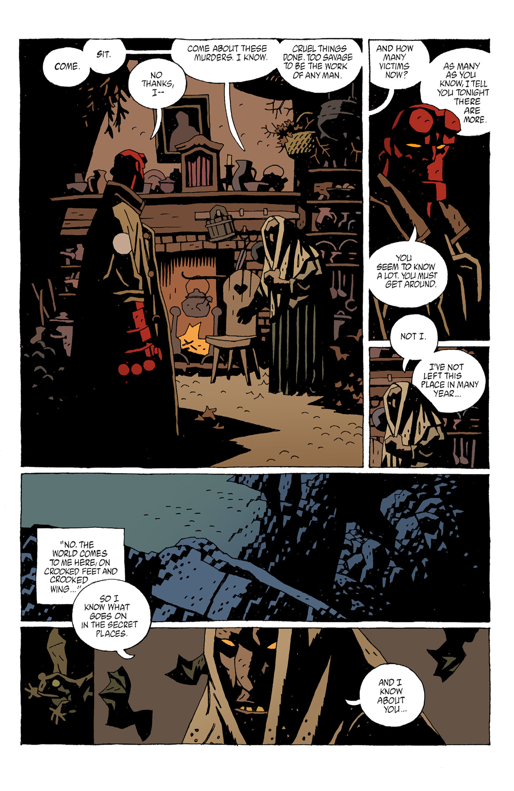Read online Hellboy: The Troll Witch and Others comic -  Issue # TPB - 27