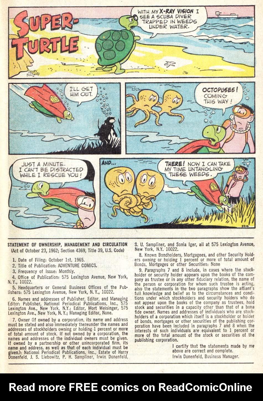 Read online Adventure Comics (1938) comic -  Issue #342 - 33