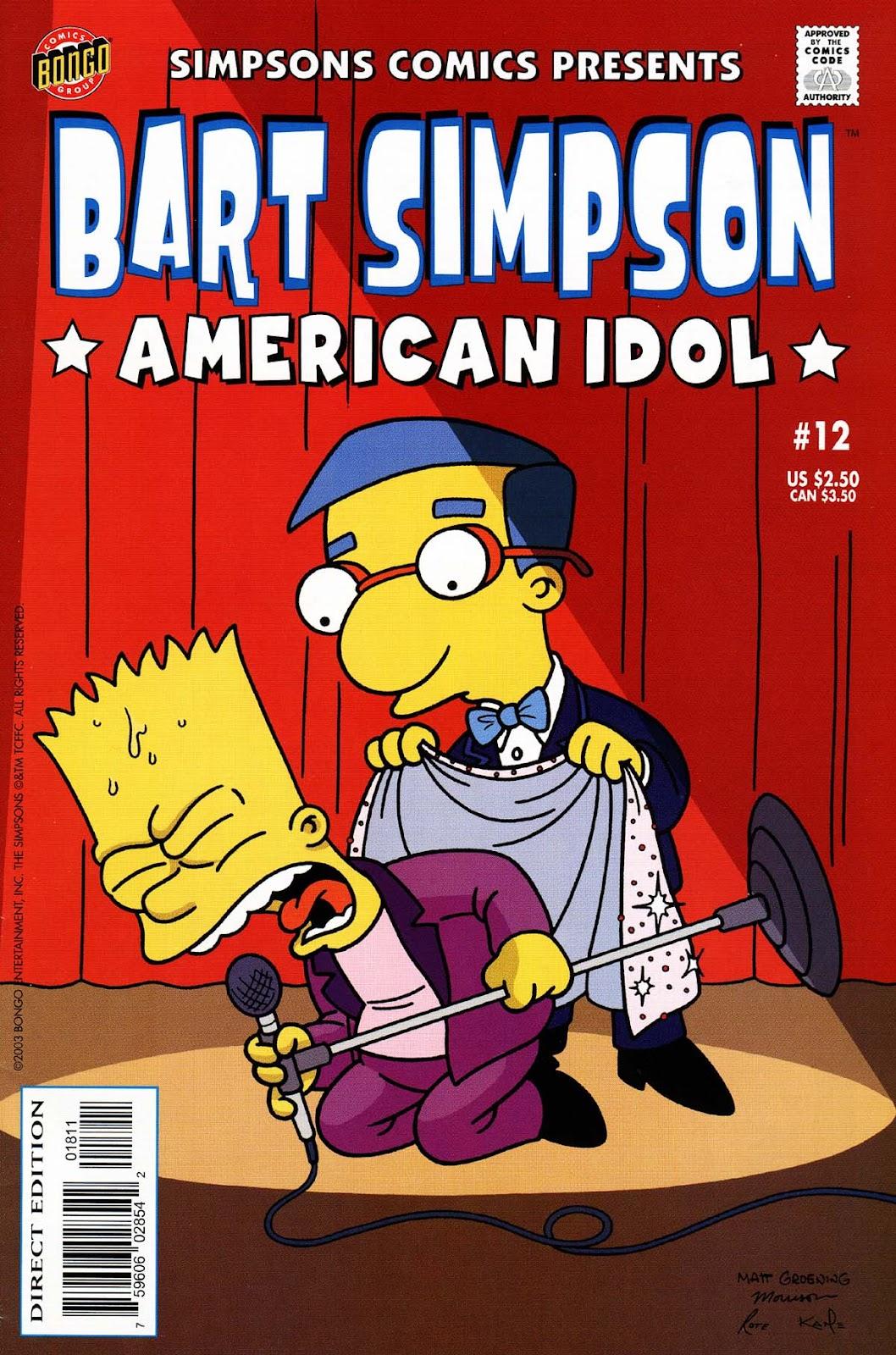 Simpsons Comics Presents Bart Simpson 12 Page 1