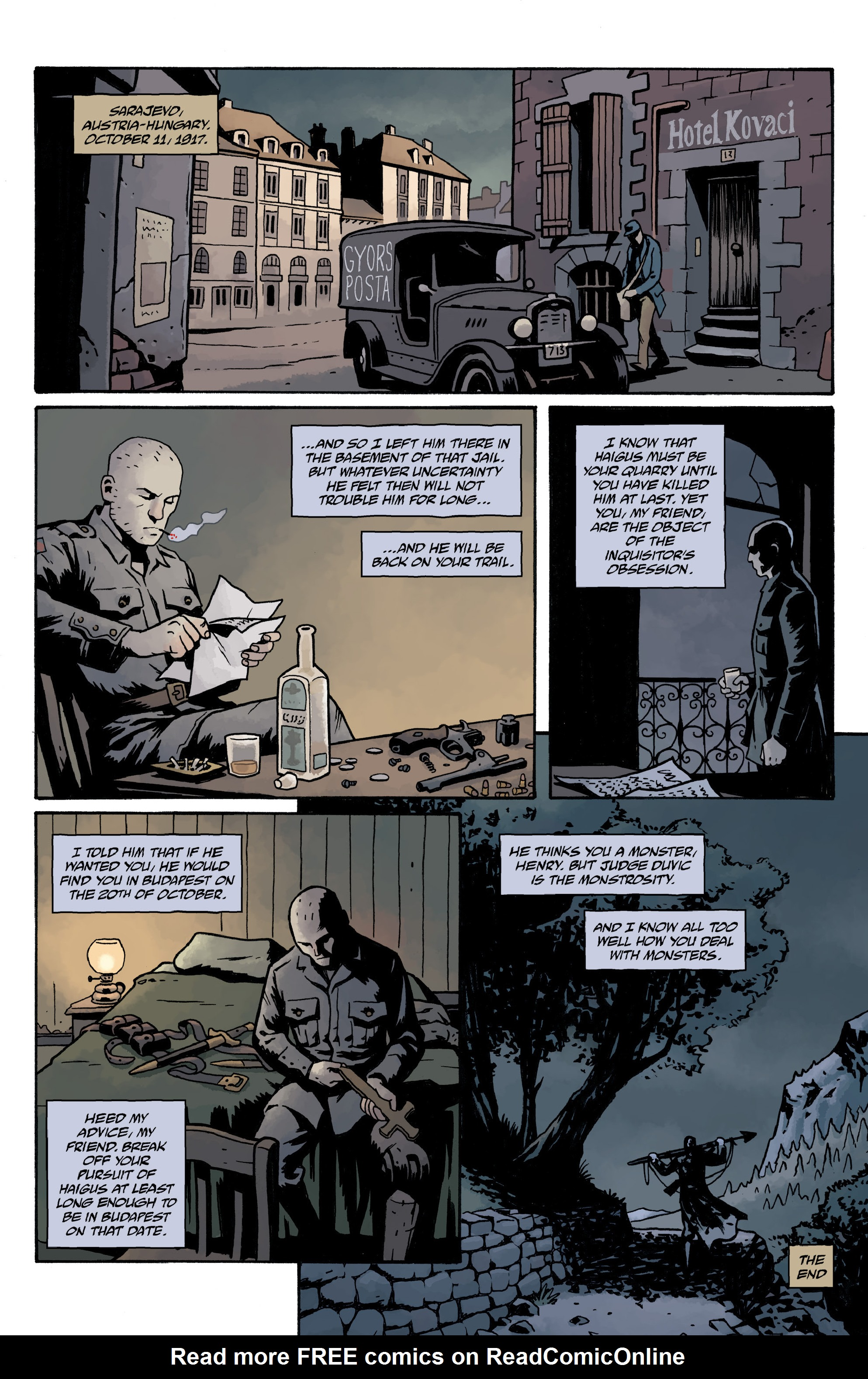 Read online Baltimore Volume 3: A Passing Stranger and Other Stories comic -  Issue # Full - 142