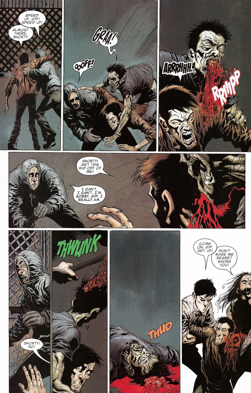 Read online Zombie (2006) comic -  Issue #2 - 20
