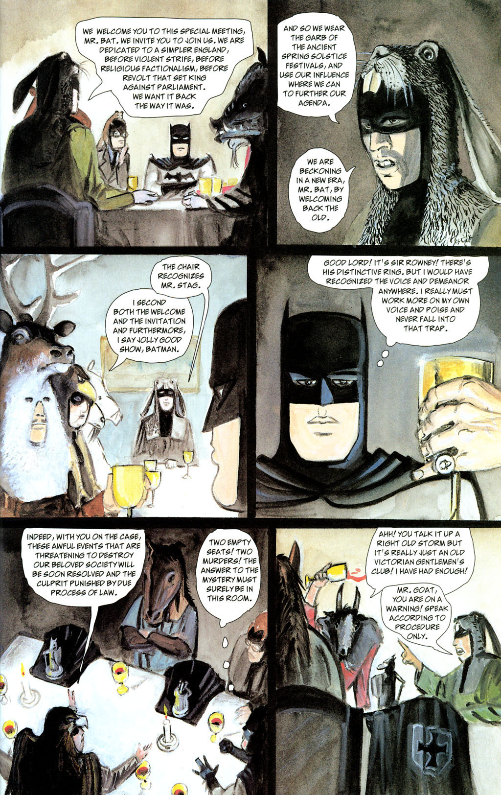 Read online Batman: The Order of Beasts comic -  Issue # Full - 29