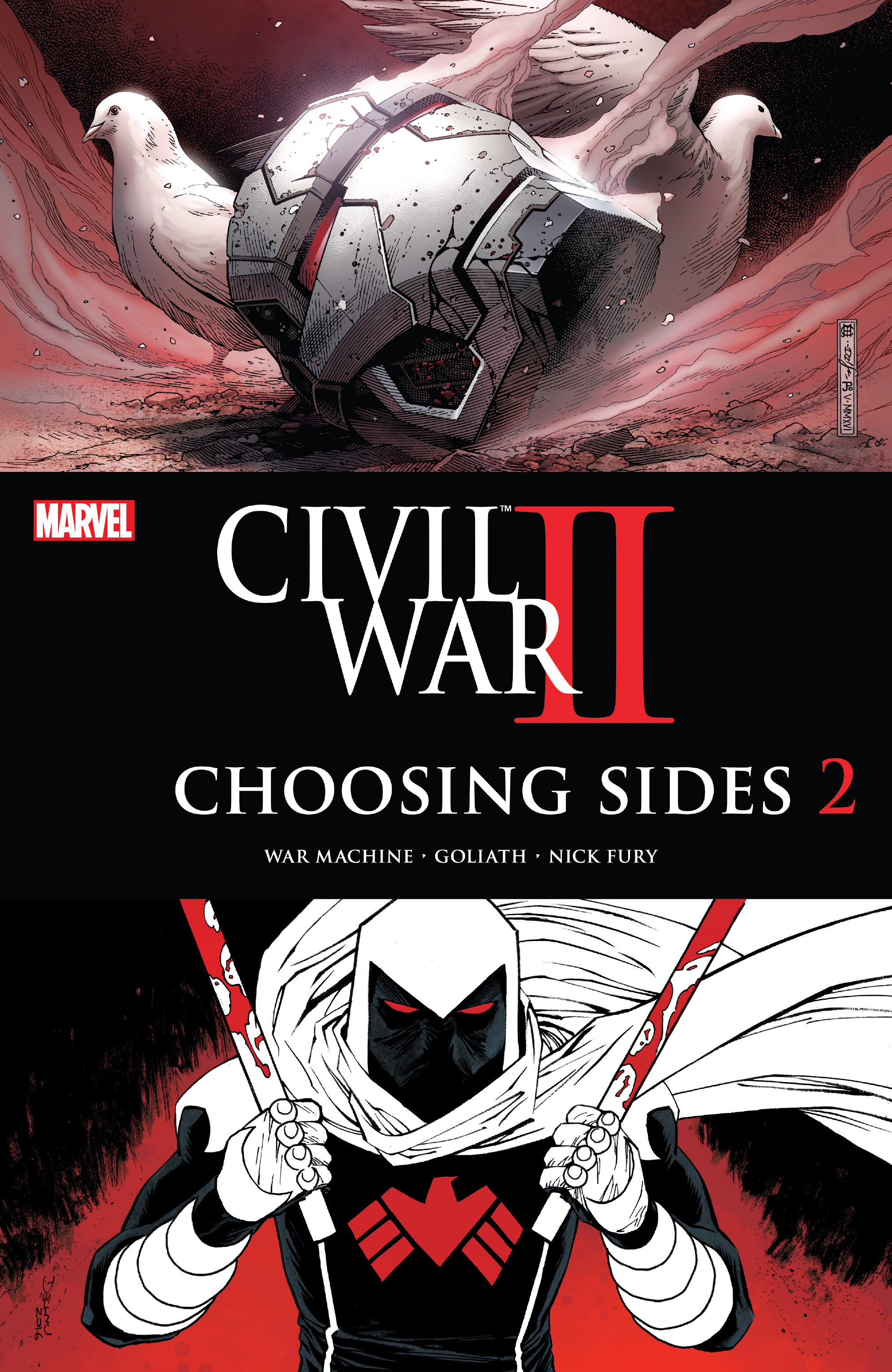 Civil War II: Choosing Sides 2 Page 1