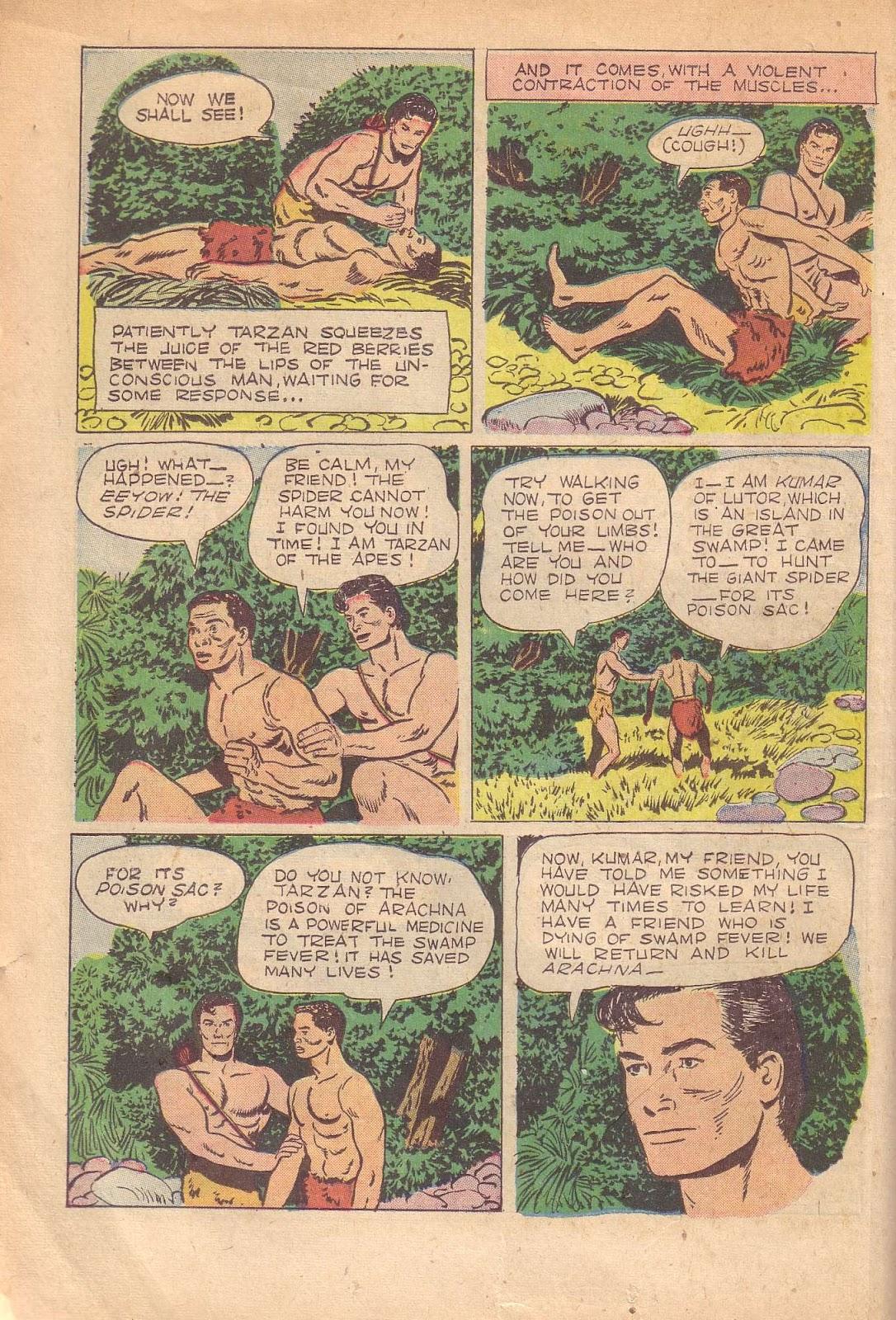Tarzan (1948) issue 50 - Page 10