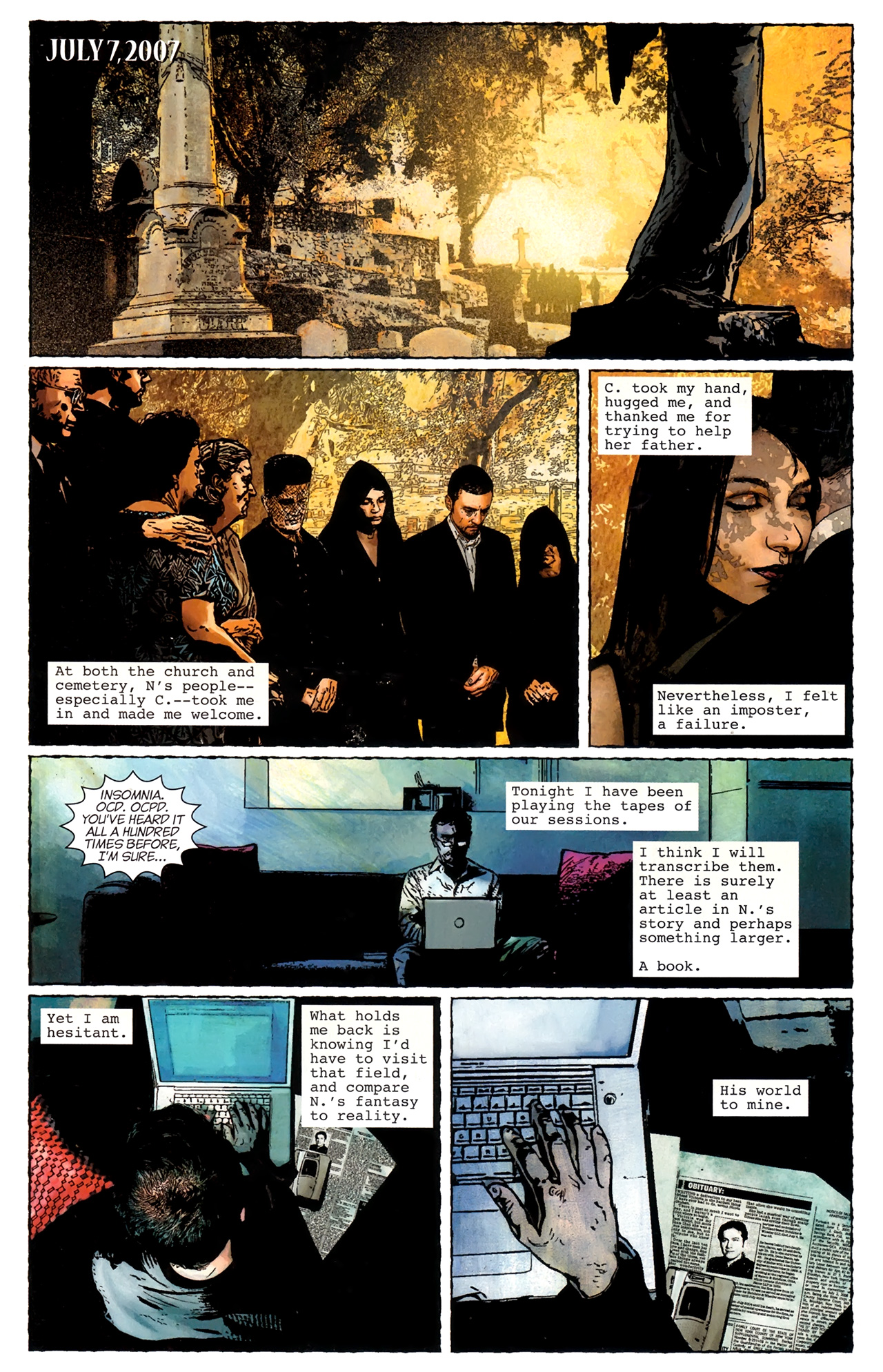 Read online Stephen King's N. comic -  Issue #3 - 5