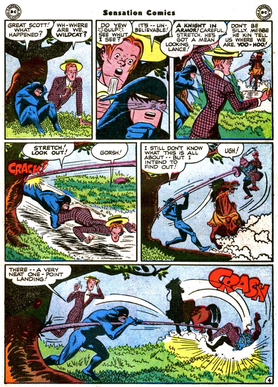 Read online Sensation (Mystery) Comics comic -  Issue #64 - 45
