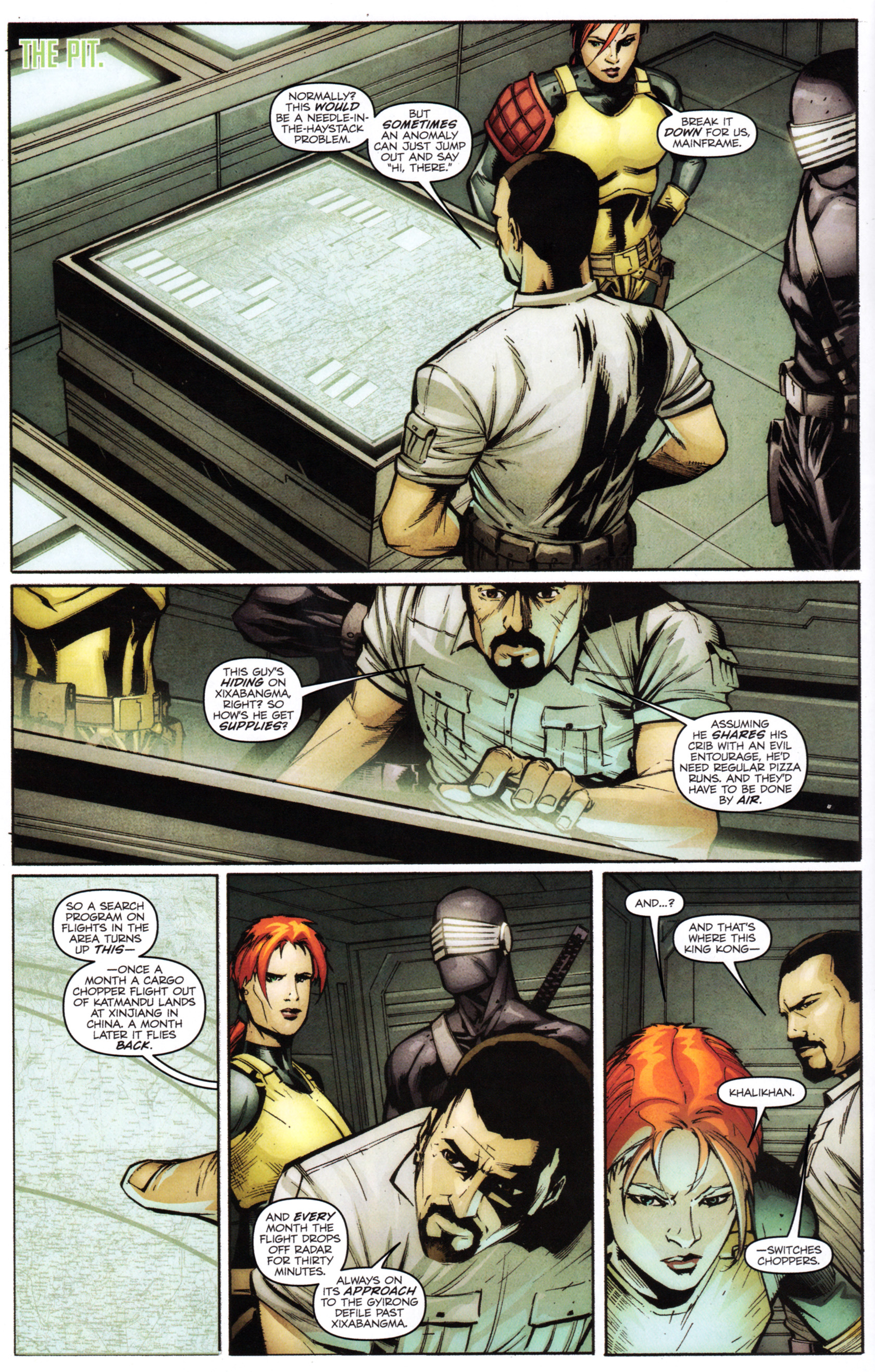 Read online G.I. Joe: Snake Eyes comic -  Issue #1 - 15