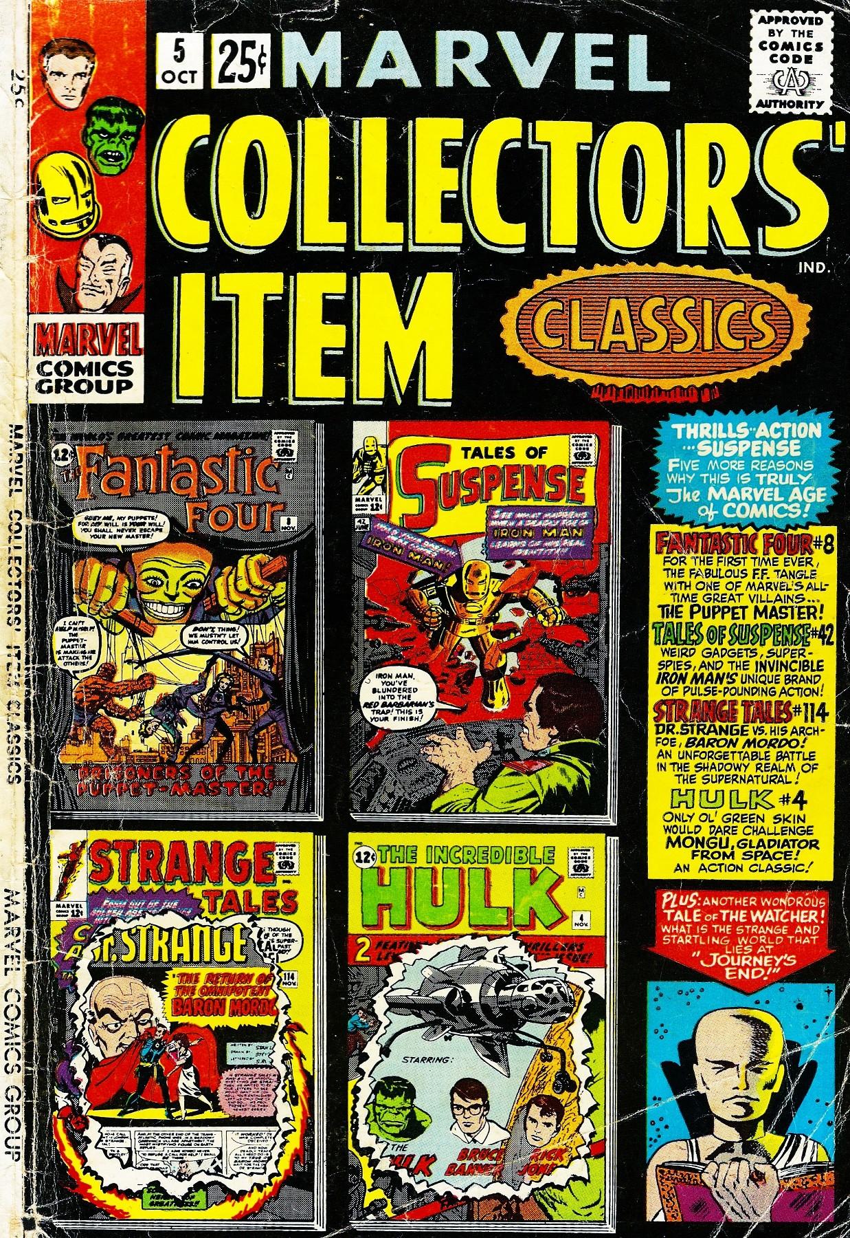 Marvel Collectors Item Classics 5 Page 1