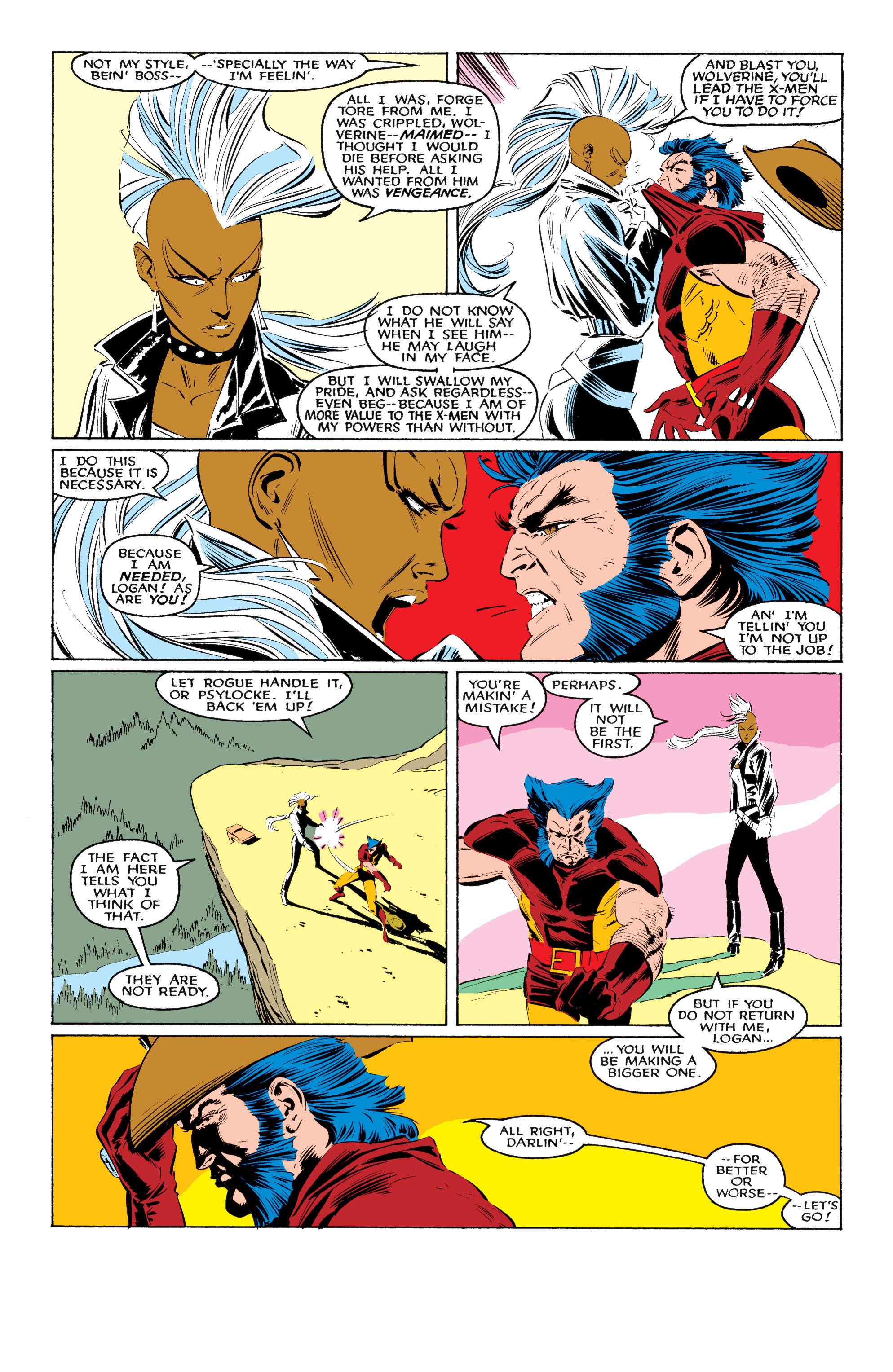 Read online Uncanny X-Men (1963) comic -  Issue #220 - 7