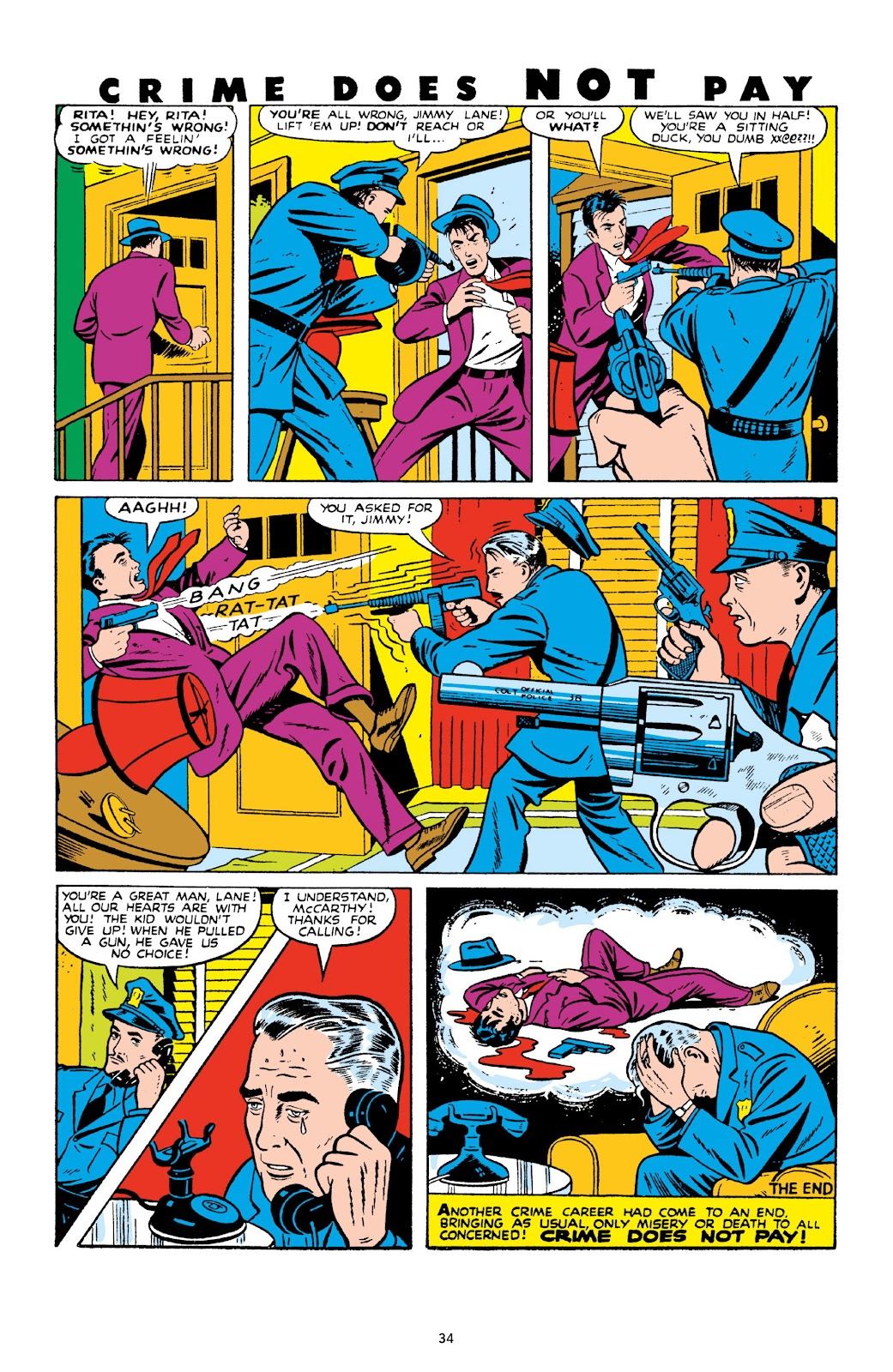 Read online Crime Does Not Pay Archives comic -  Issue # TPB 10 (Part 1) - 36