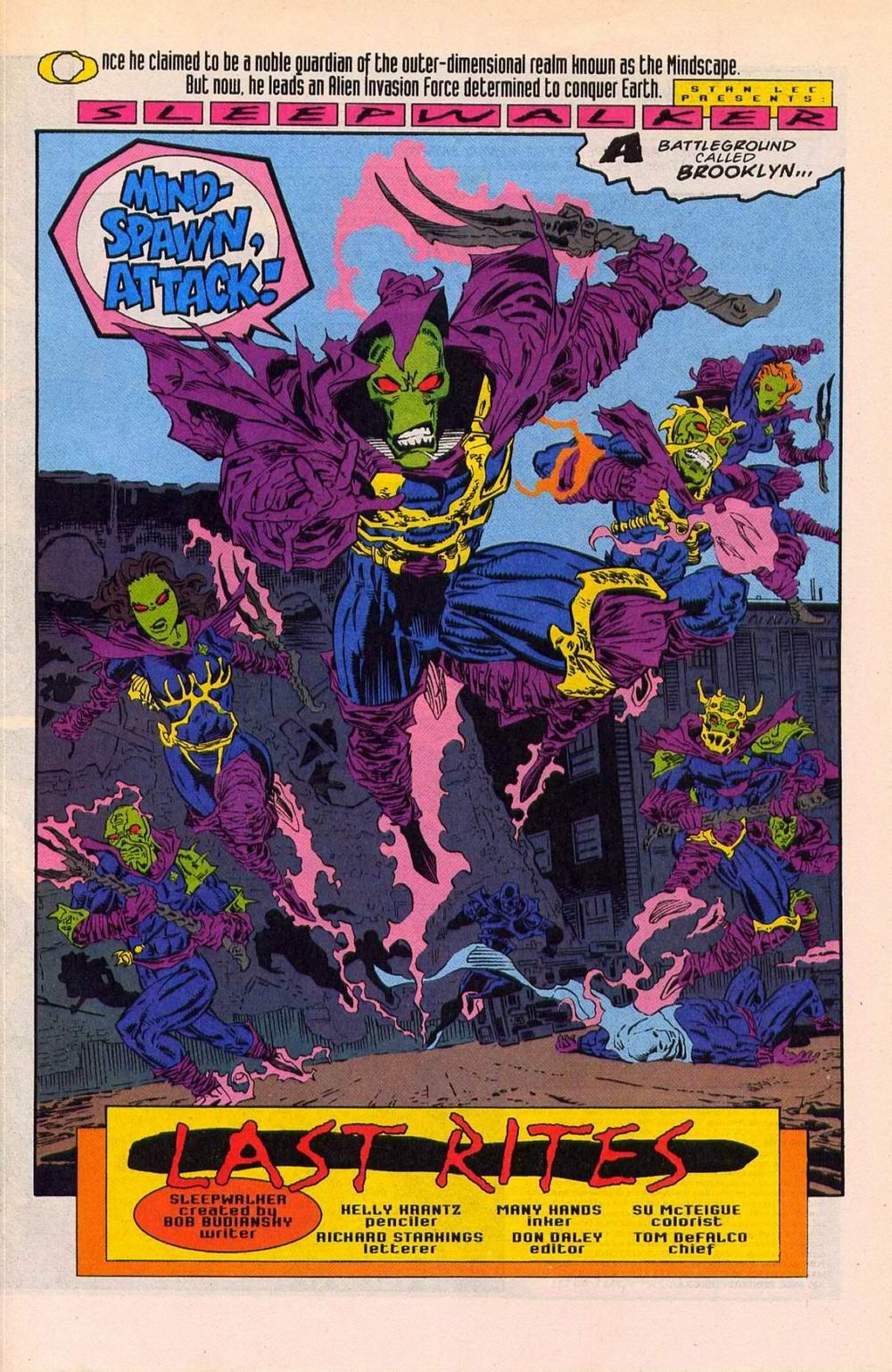 Read online Sleepwalker comic -  Issue #27 - 2