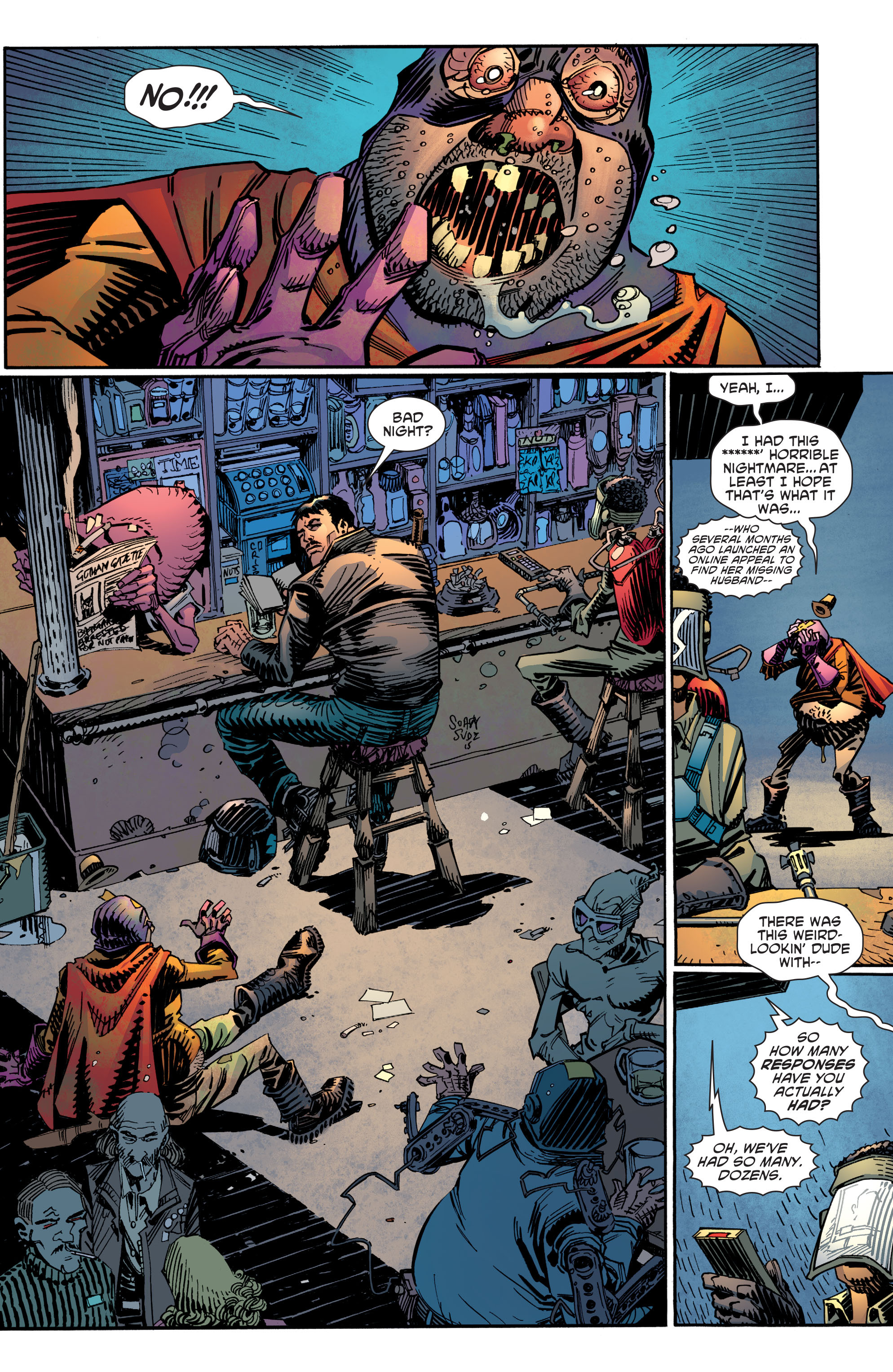 Read online All-Star Section Eight comic - Issue #5