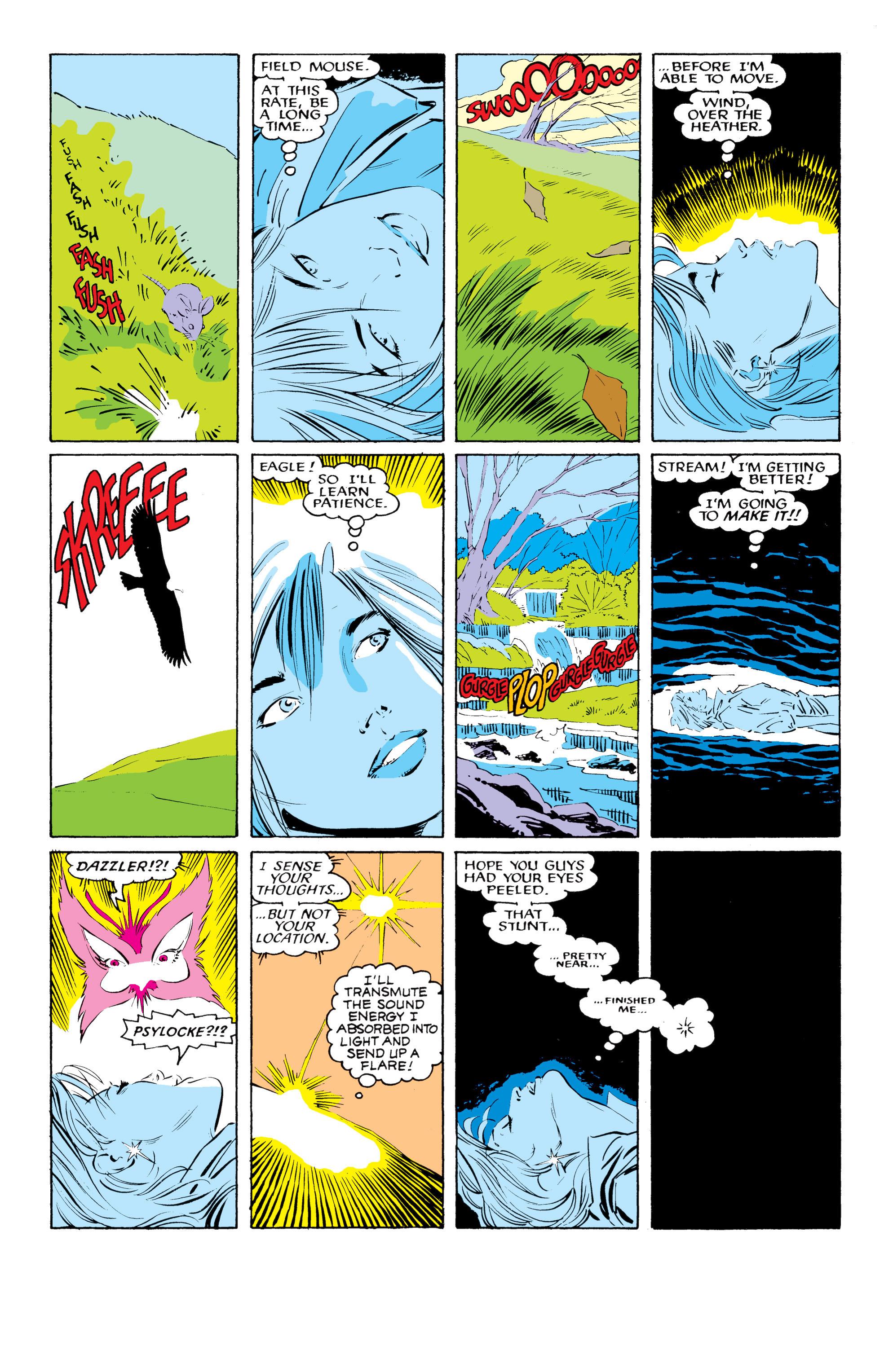 Read online Uncanny X-Men (1963) comic -  Issue #218 - 8