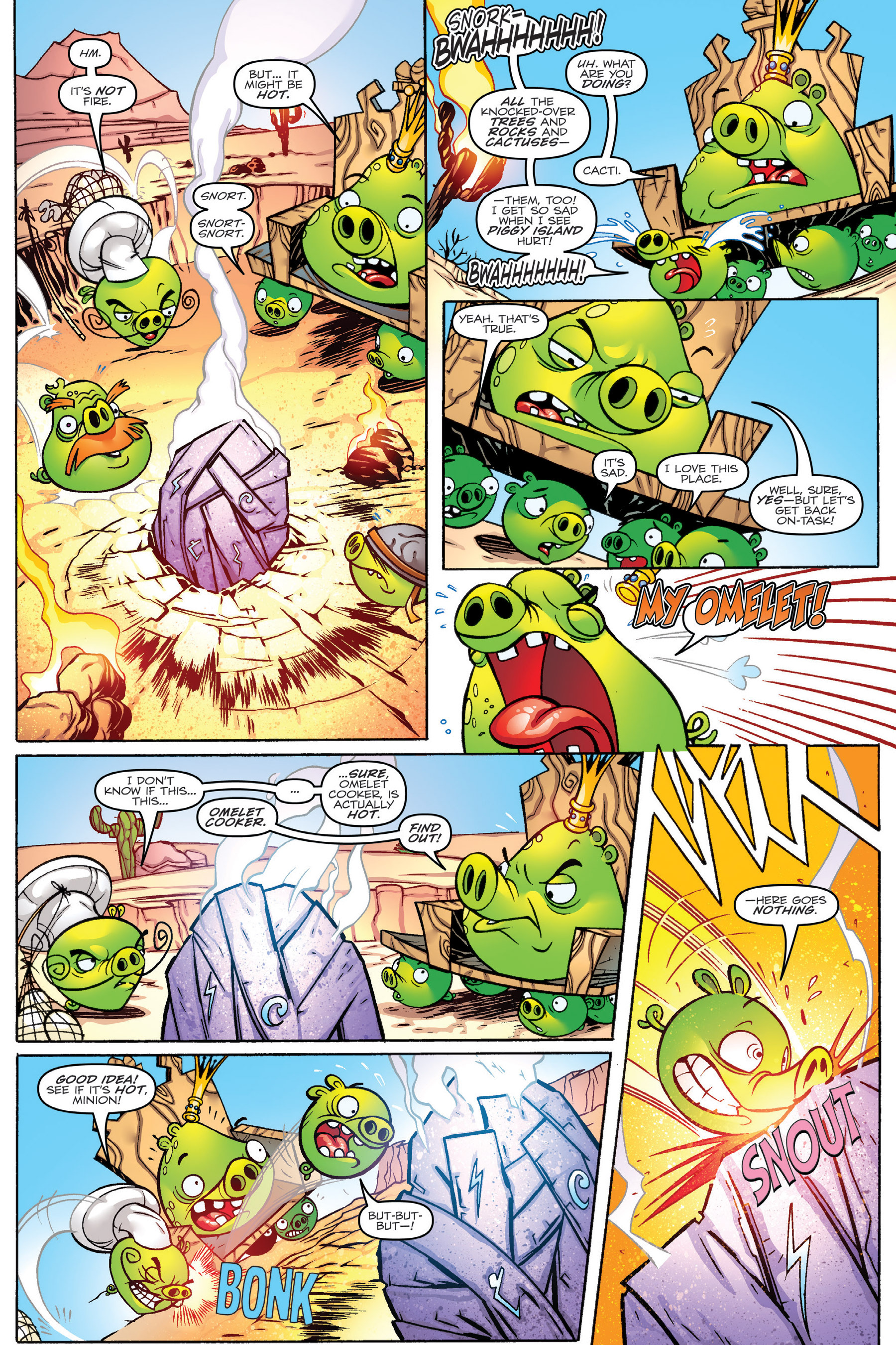 Read online Angry Birds Transformers: Age of Eggstinction comic -  Issue # Full - 16