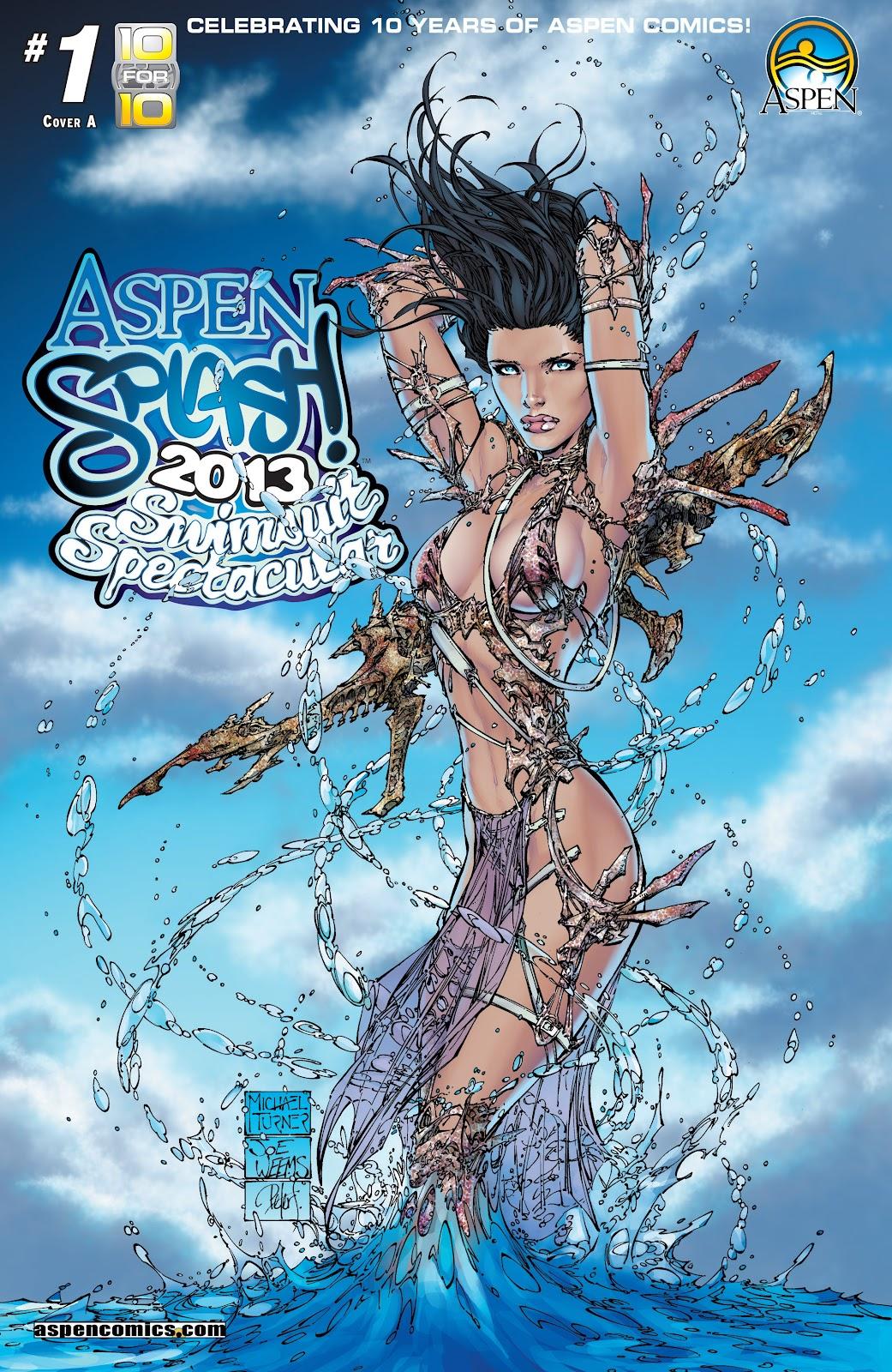 Read online Aspen Splash: Swimsuit Spectacular comic -  Issue # Issue 2013 - 1