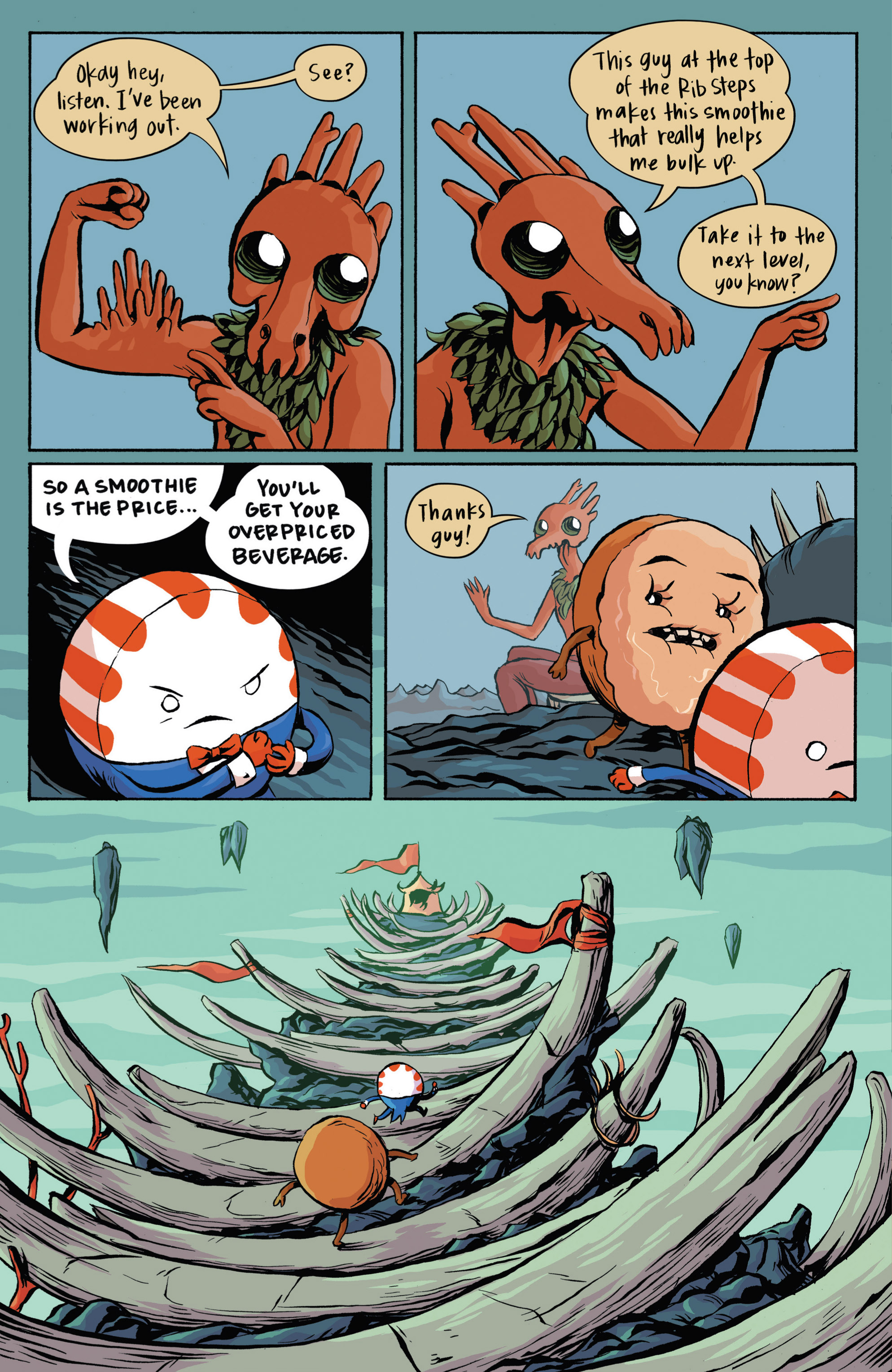 Read online Adventure Time: Candy Capers comic -  Issue #3 - 9