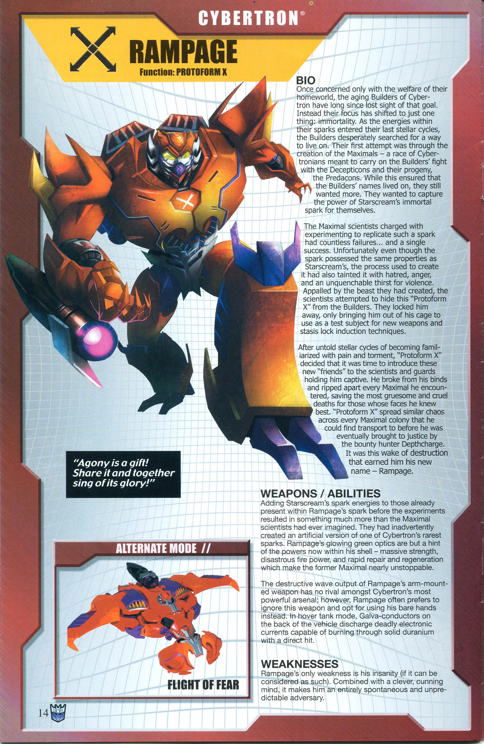 Read online Transformers: Collectors' Club comic -  Issue #55 - 14