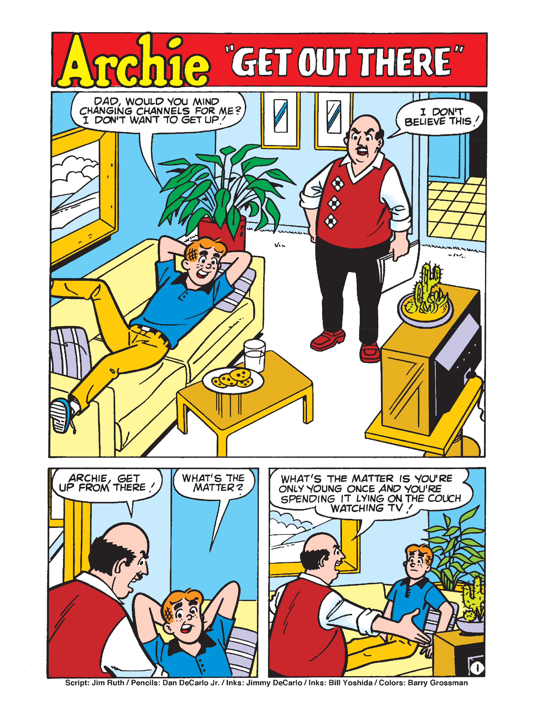 Read online Archie's Funhouse Double Digest comic -  Issue #7 - 118