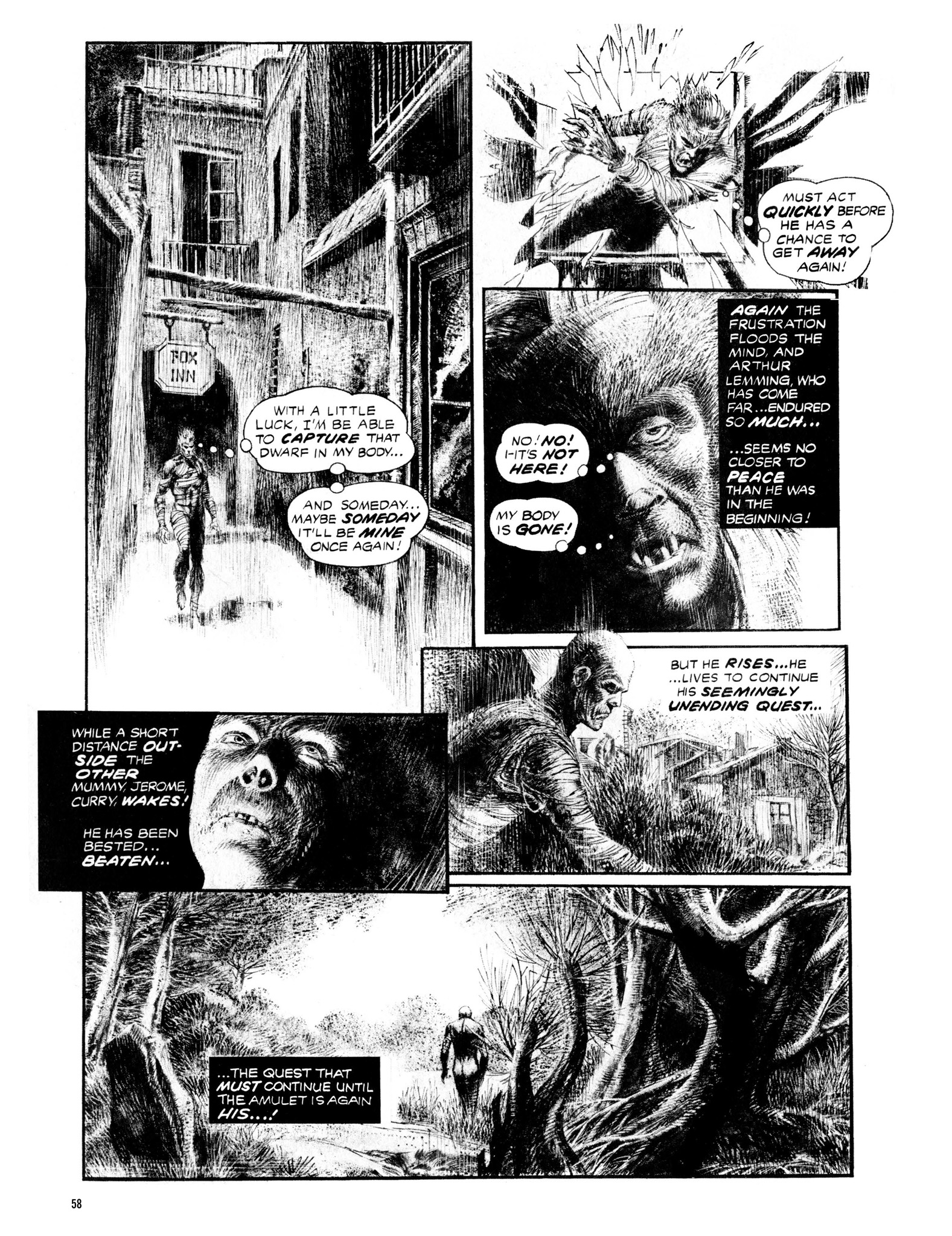 Read online Eerie Archives comic -  Issue # TPB 13 - 59