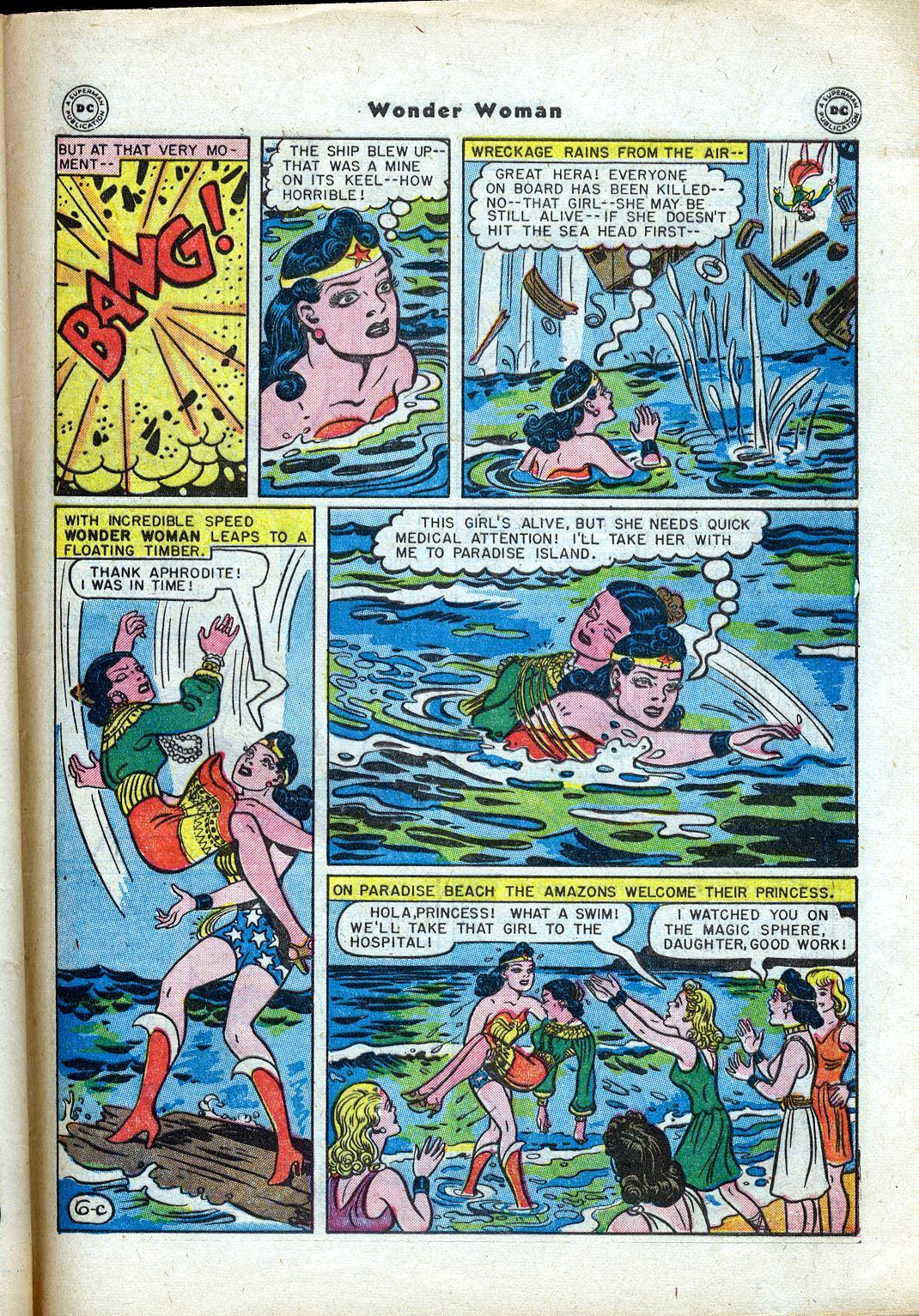 Read online Wonder Woman (1942) comic -  Issue #24 - 43