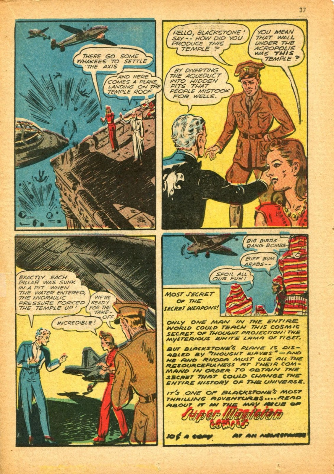 Read online Super-Magician Comics comic -  Issue #12 - 37