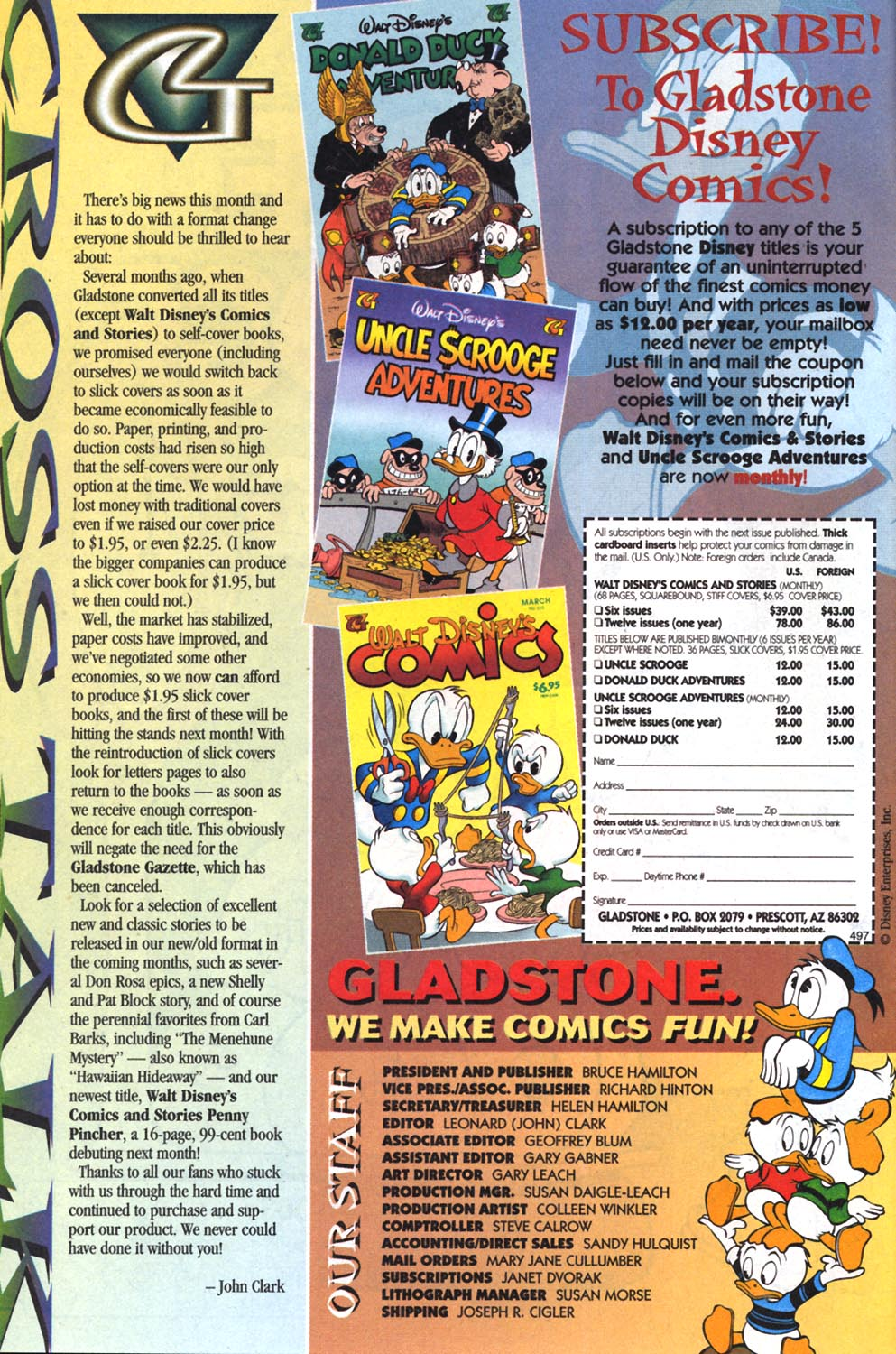 Read online Uncle Scrooge (1953) comic -  Issue #303 - 2