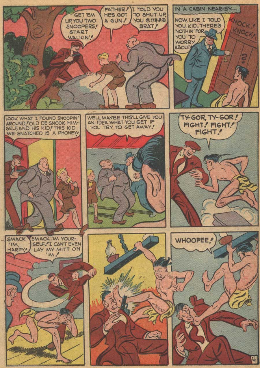 Blue Ribbon Comics (1939) issue 16 - Page 42