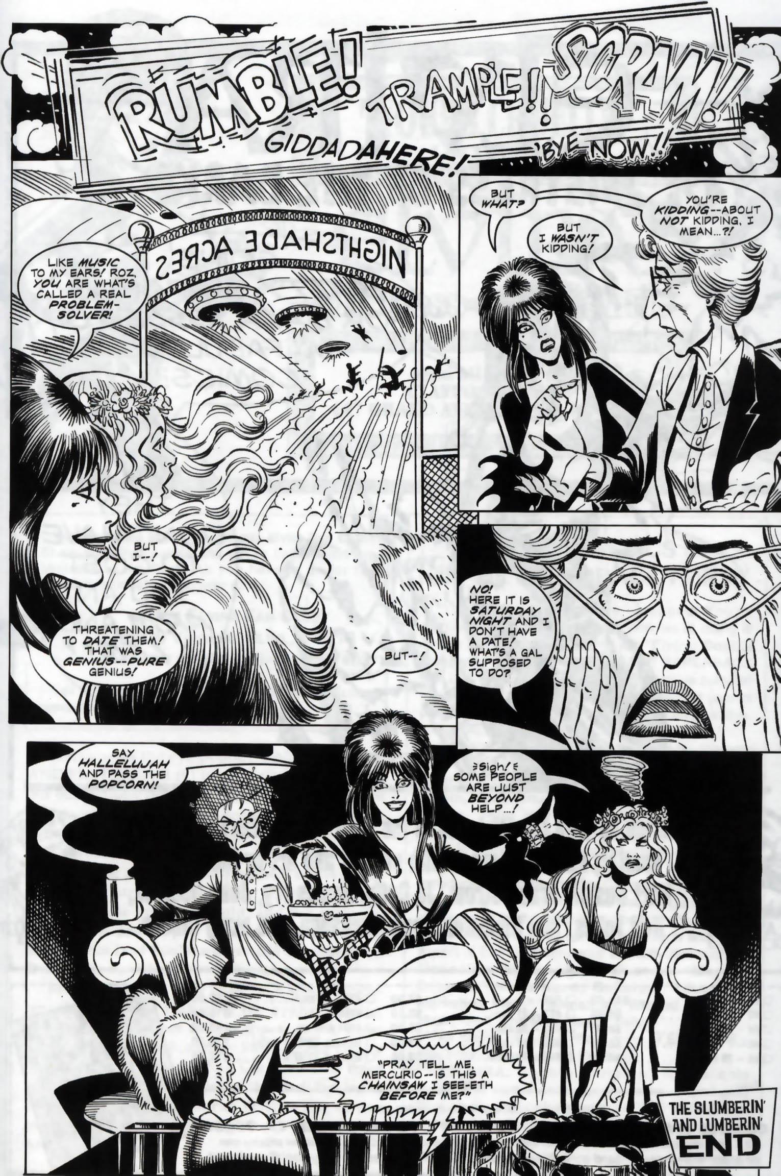 Read online Elvira, Mistress of the Dark comic -  Issue #118 - 25