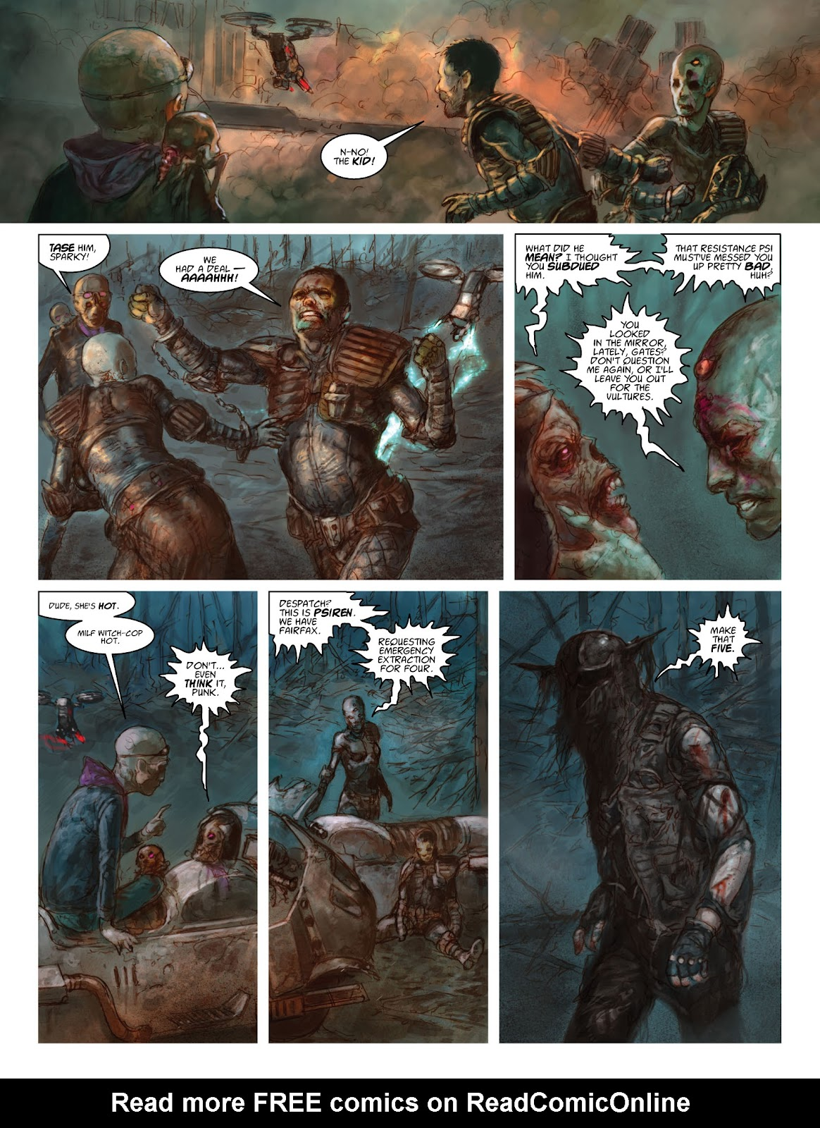 Read online 2000 AD comic -  Issue #2033 - 29