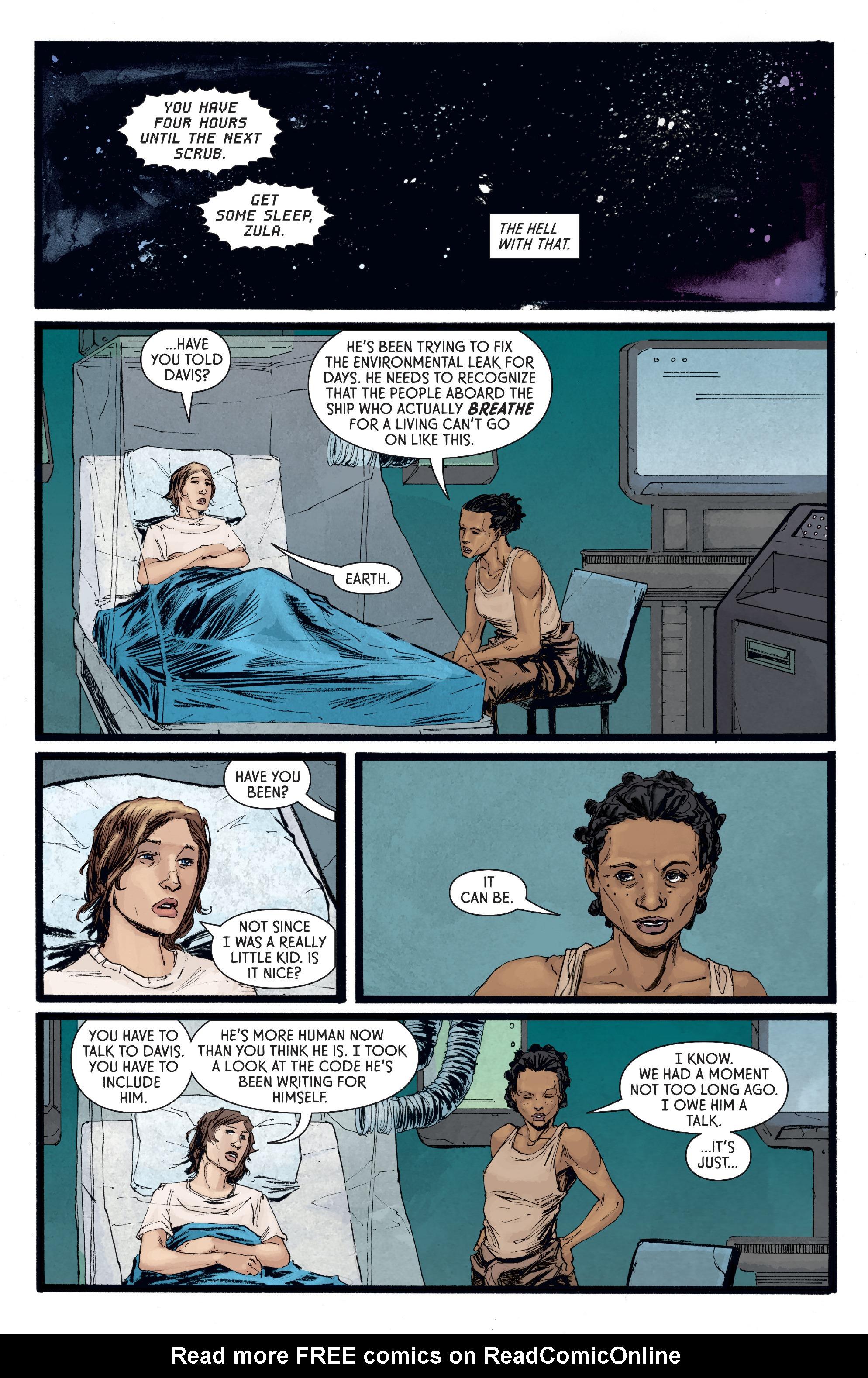 Read online Aliens: Defiance comic -  Issue #8 - 22