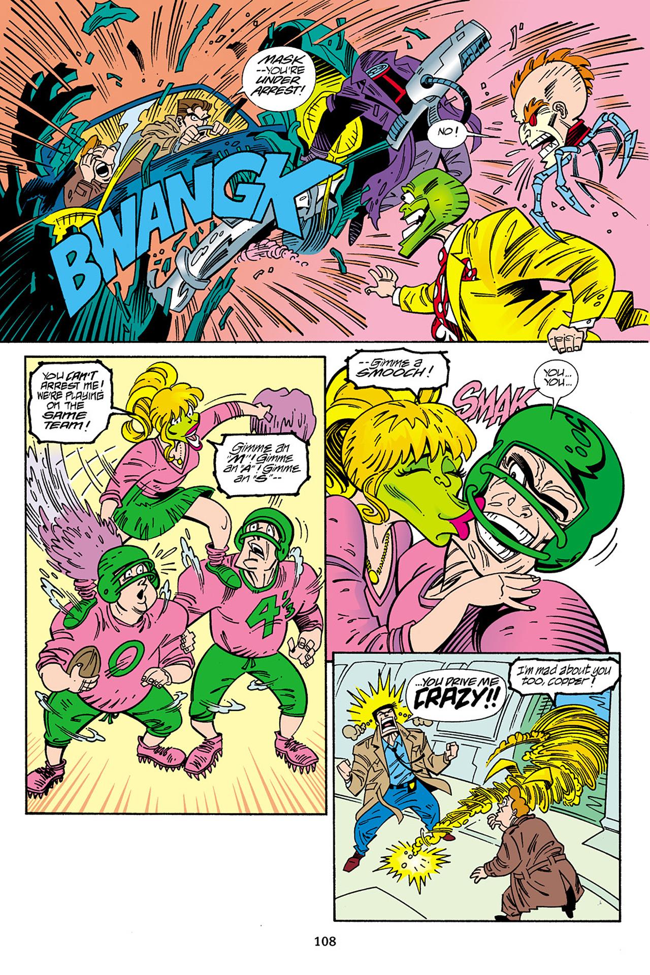 Read online Adventures Of The Mask Omnibus comic -  Issue #Adventures Of The Mask Omnibus Full - 108