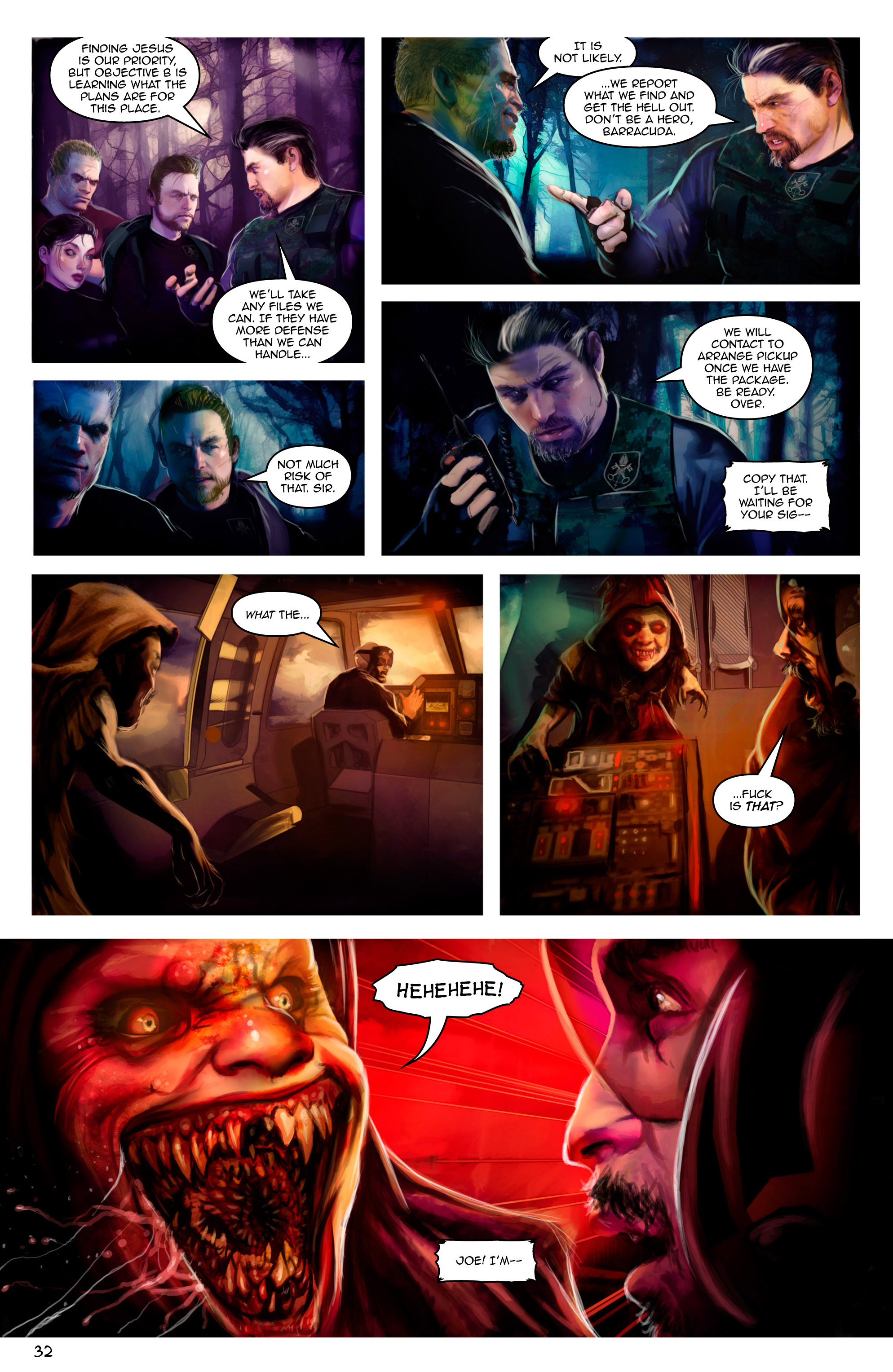 Read online Escape from Jesus Island comic -  Issue #2 - 32