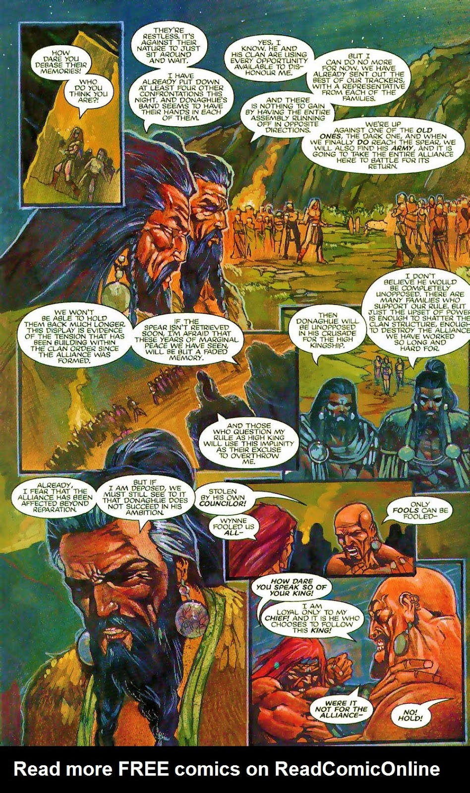 More Than Mortal: Sagas issue 3 - Page 4