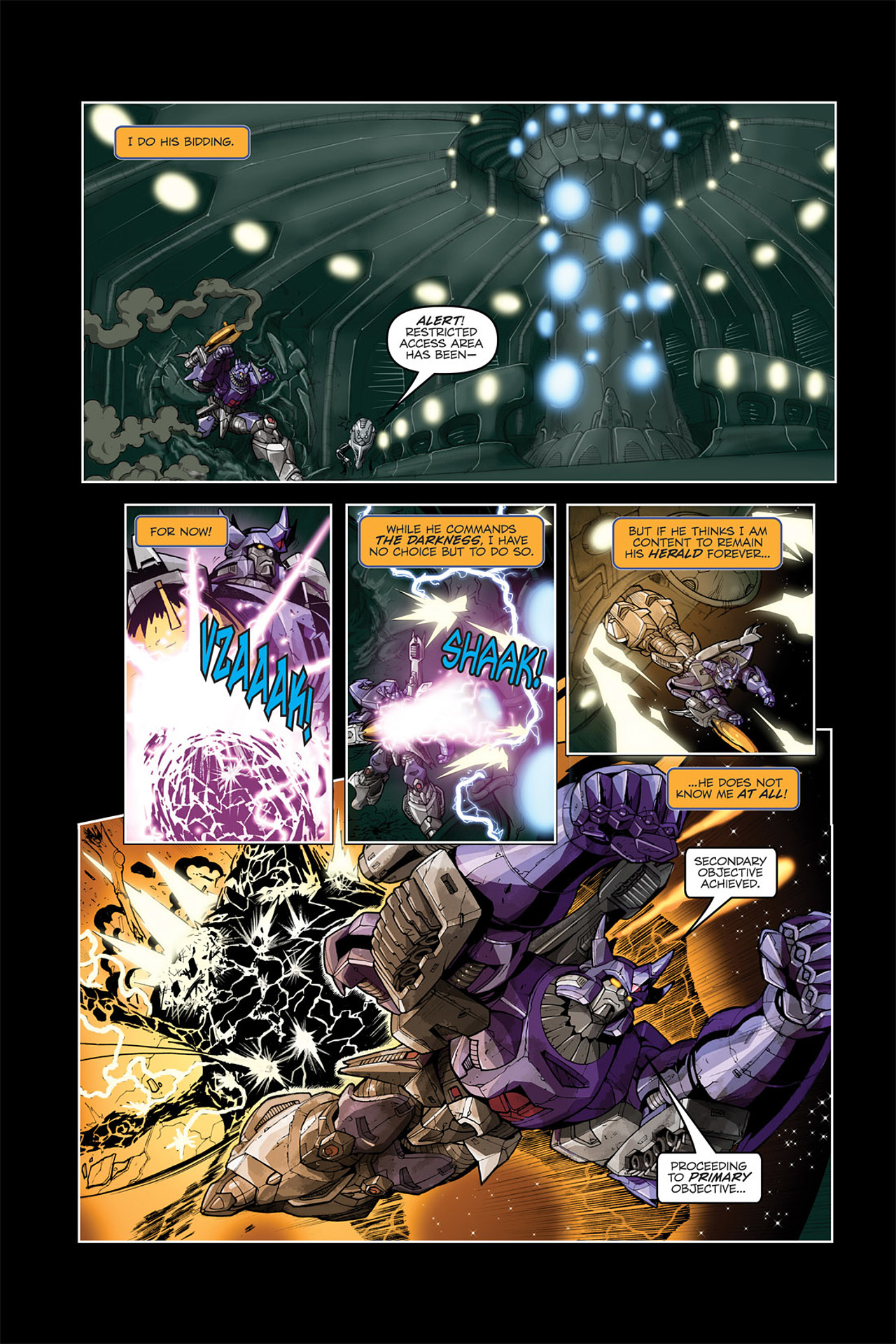 Read online Transformers Spotlight: Galvatron comic -  Issue # Full - 9