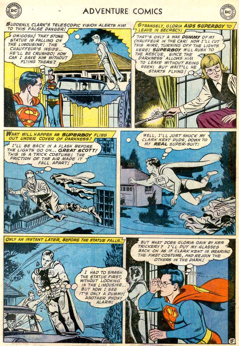 Read online Adventure Comics (1938) comic -  Issue #246 - 10