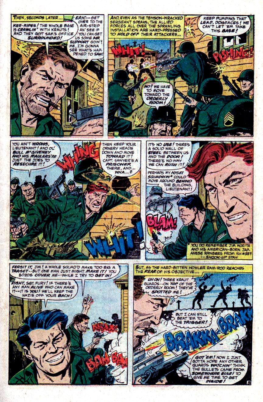 Read online Sgt. Fury comic -  Issue #48 - 11