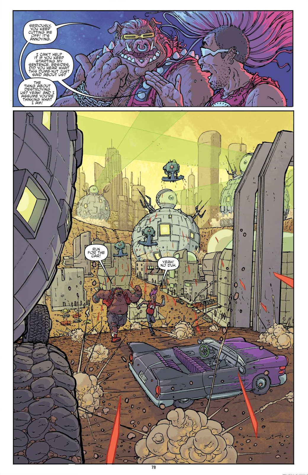 Read online Teenage Mutant Ninja Turtles: The IDW Collection comic -  Issue # TPB 8 (Part 1) - 77