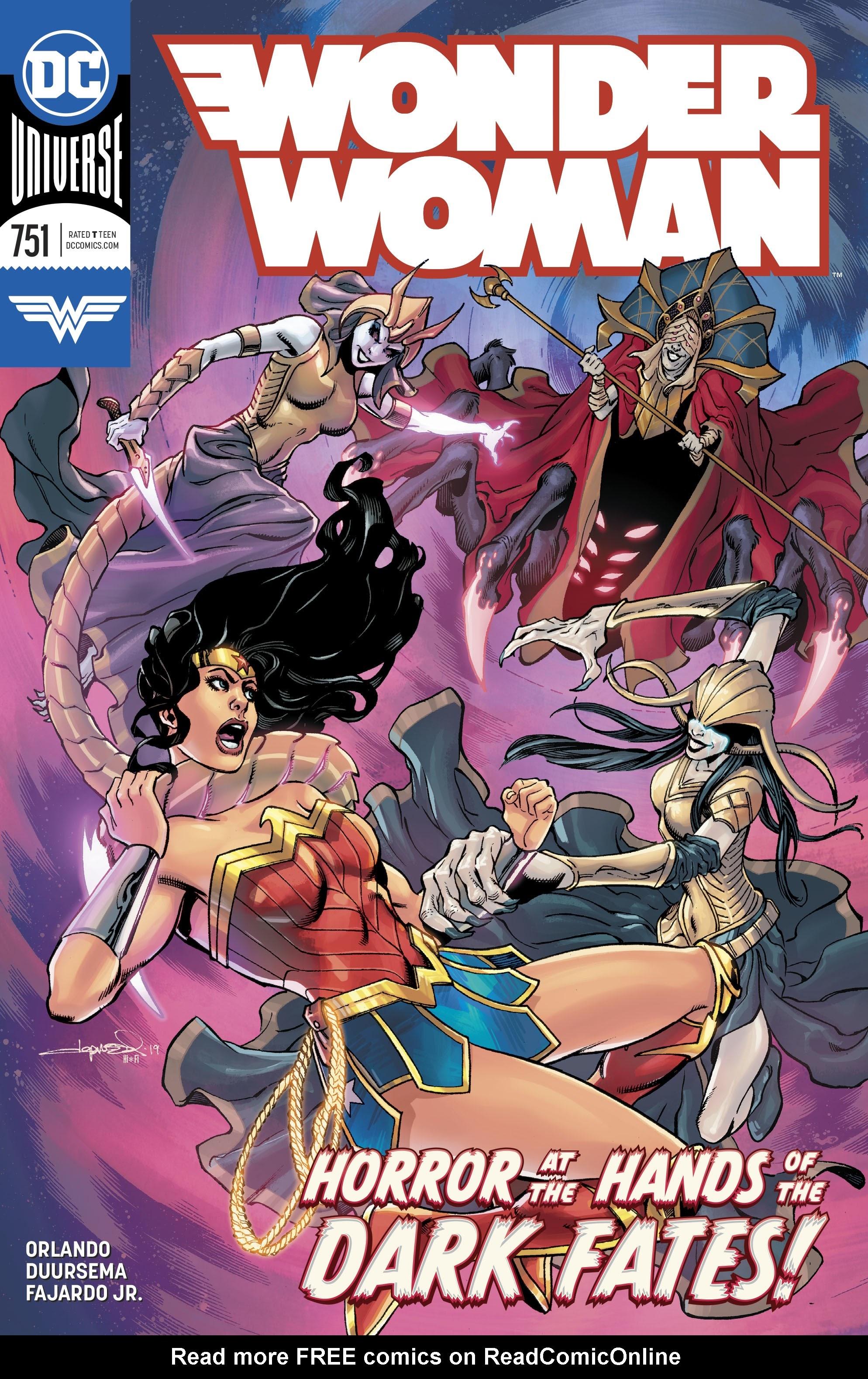 Wonder Woman (2016) 751 Page 1