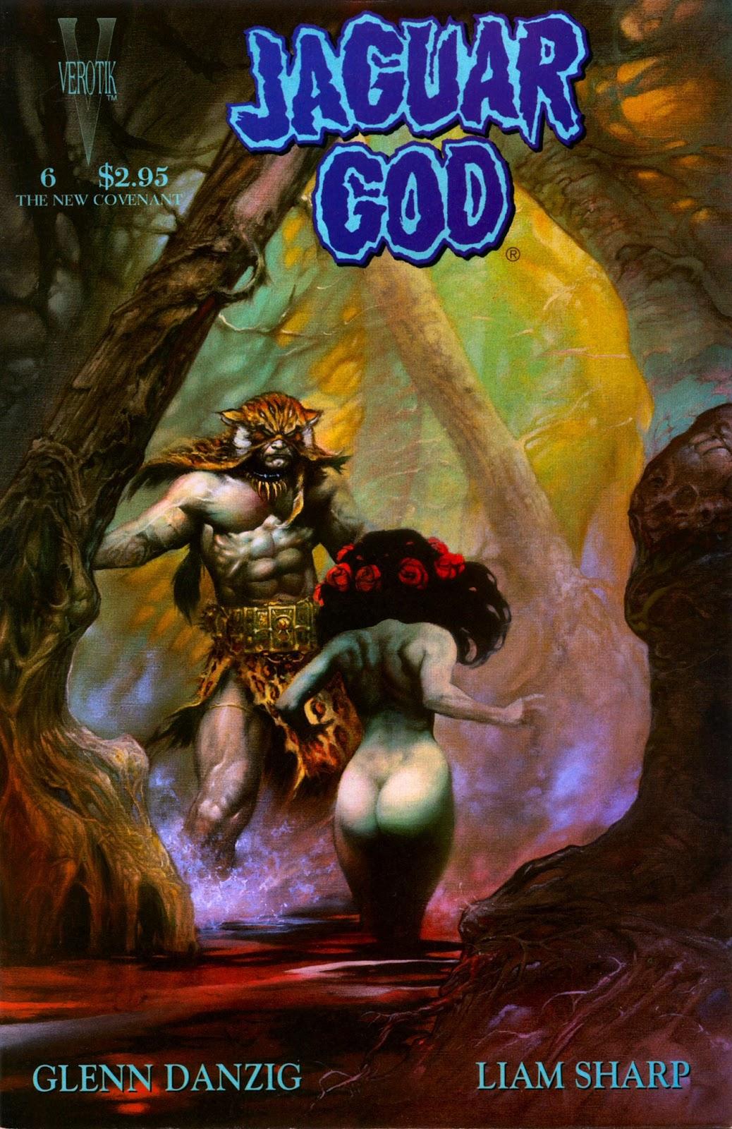 Jaguar God issue 6 - Page 1