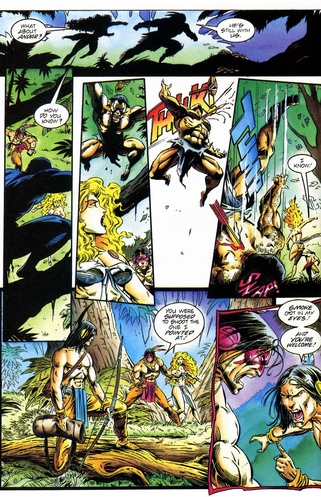 Read online Turok, Dinosaur Hunter (1993) comic -  Issue #35 - 7