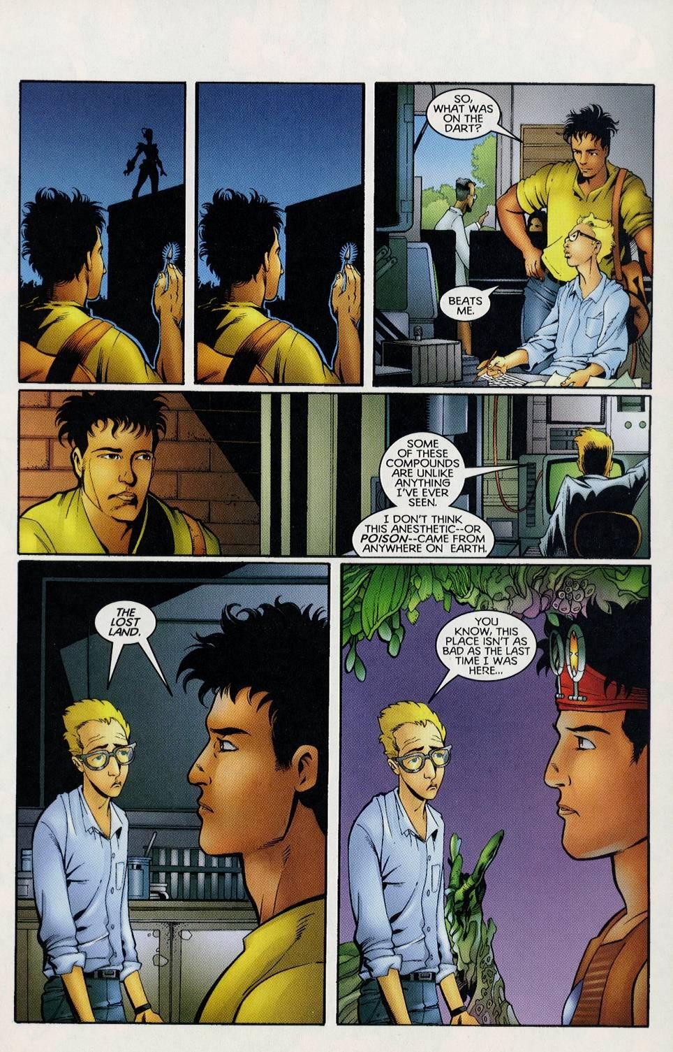 Read online Turok comic -  Issue #3 - 13