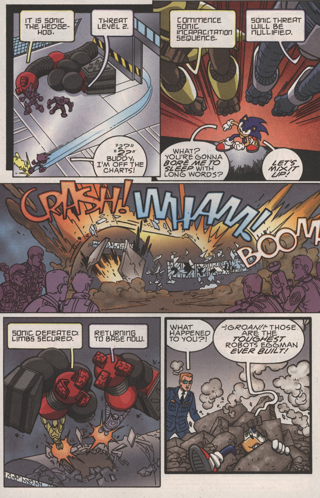 Read online Sonic X comic -  Issue #22 - 20