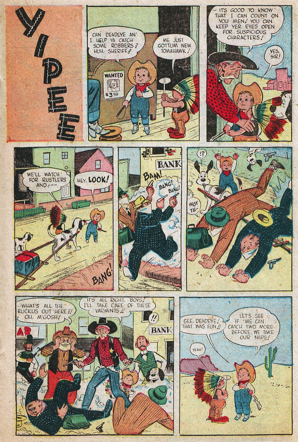 Read online Famous Funnies comic -  Issue #192 - 27
