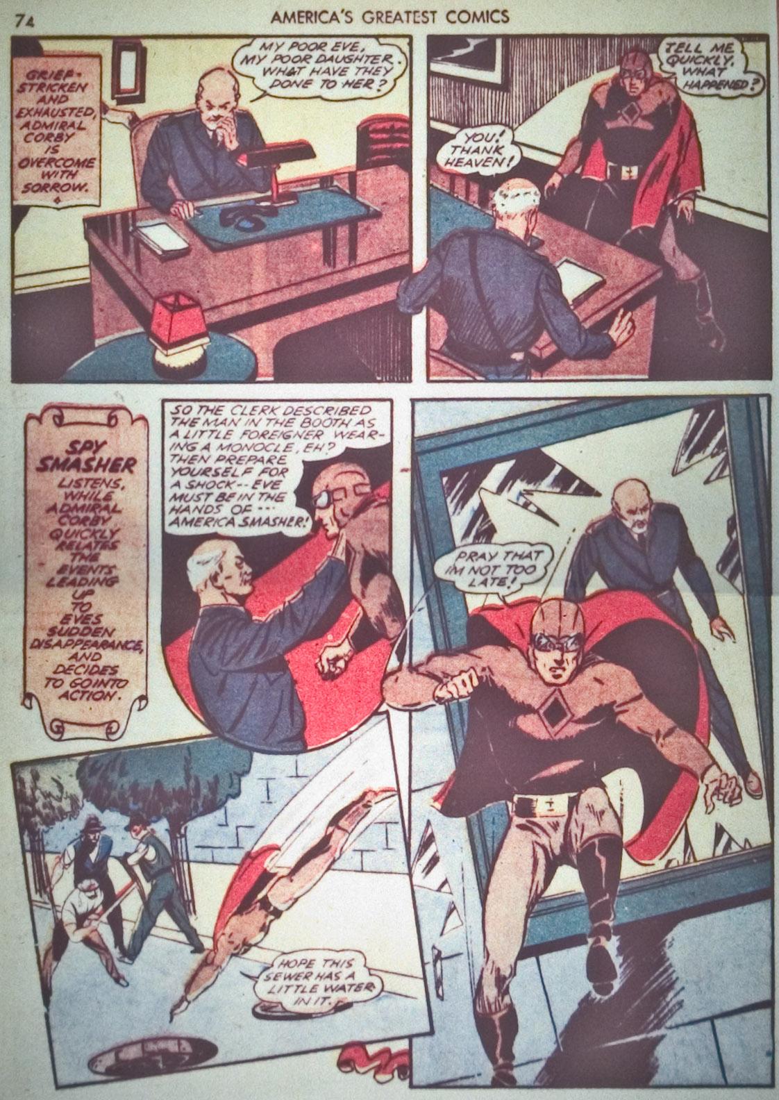 Read online America's Greatest Comics comic -  Issue #1 - 77
