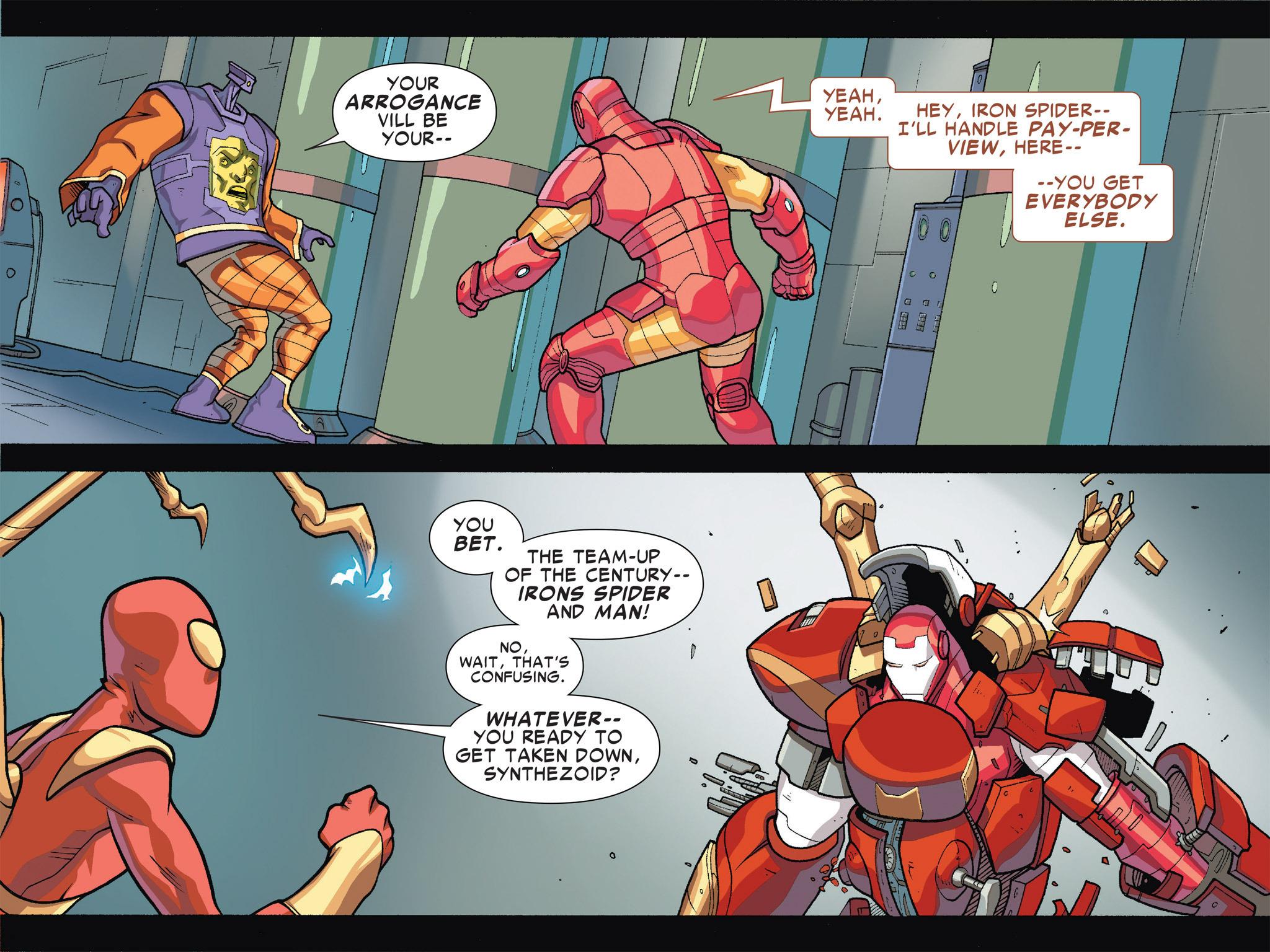 Read online Ultimate Spider-Man (Infinite Comics) (2016) comic -  Issue #5 - 14