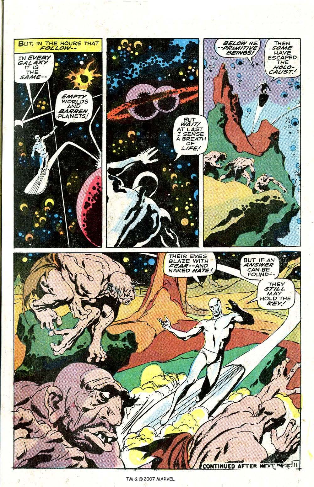 Read online Silver Surfer (1968) comic -  Issue #6 - 13