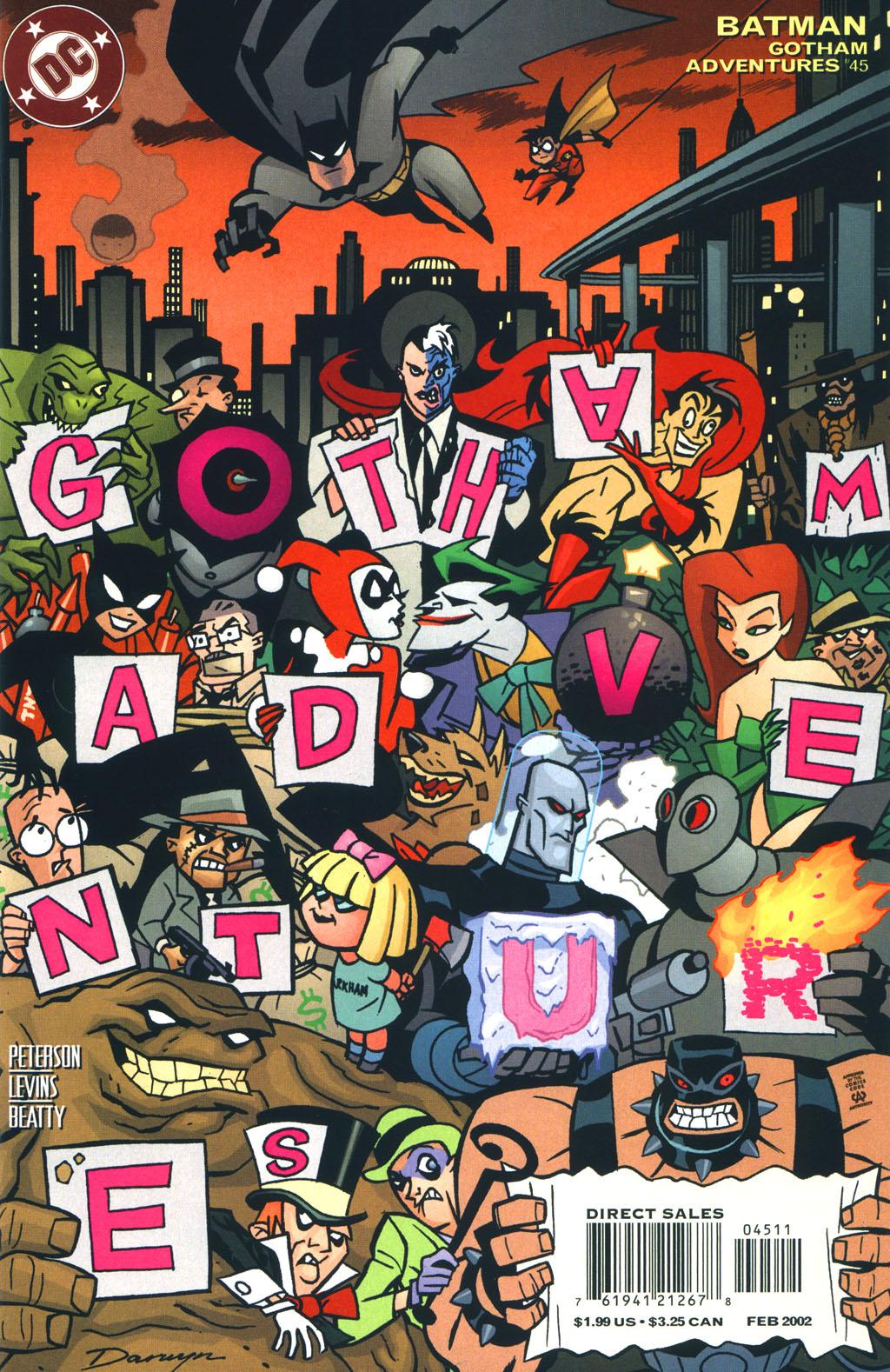 Batman: Gotham Adventures issue 45 - Page 1