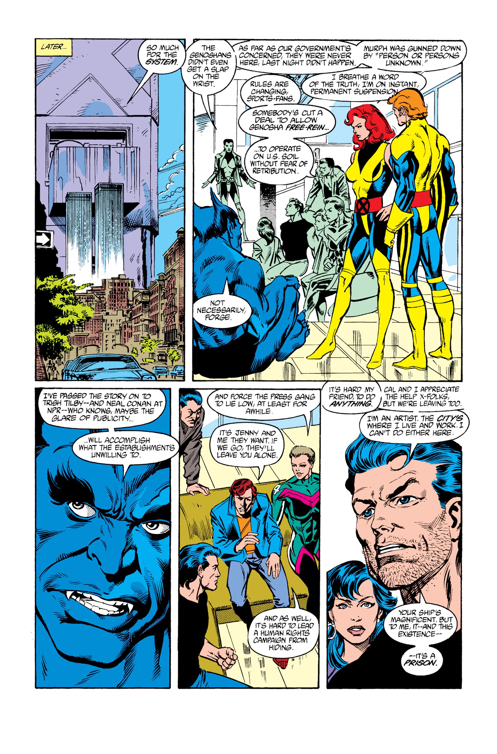 Read online Uncanny X-Men (1963) comic -  Issue #264 - 24
