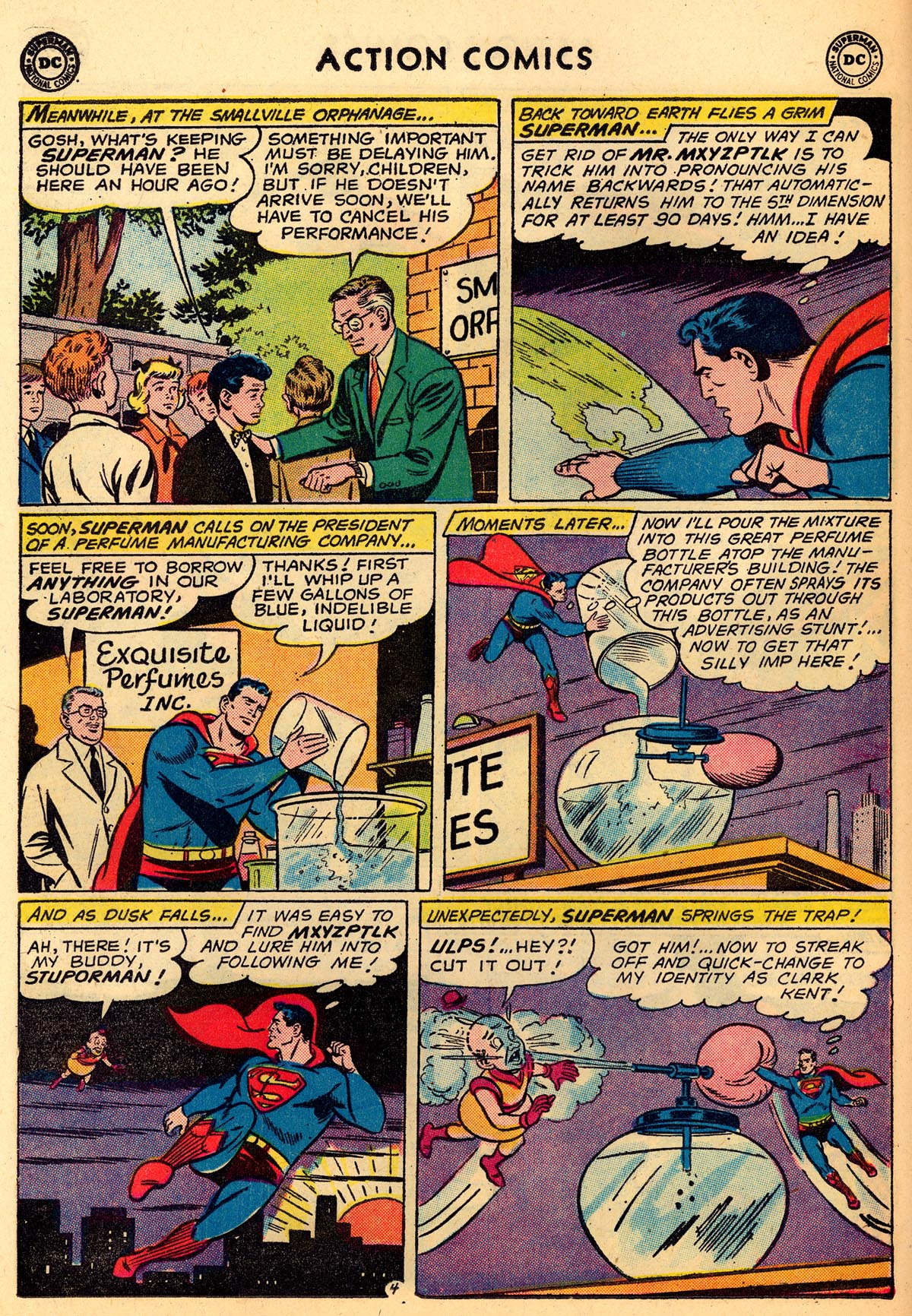 Read online Action Comics (1938) comic -  Issue #273 - 6