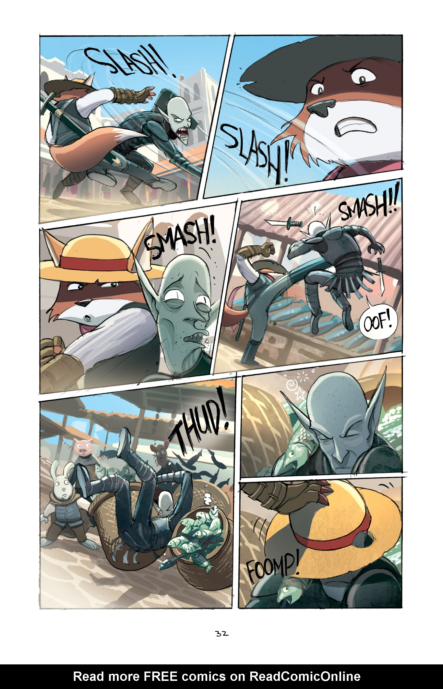 Read online Amulet comic -  Issue #2 - 34